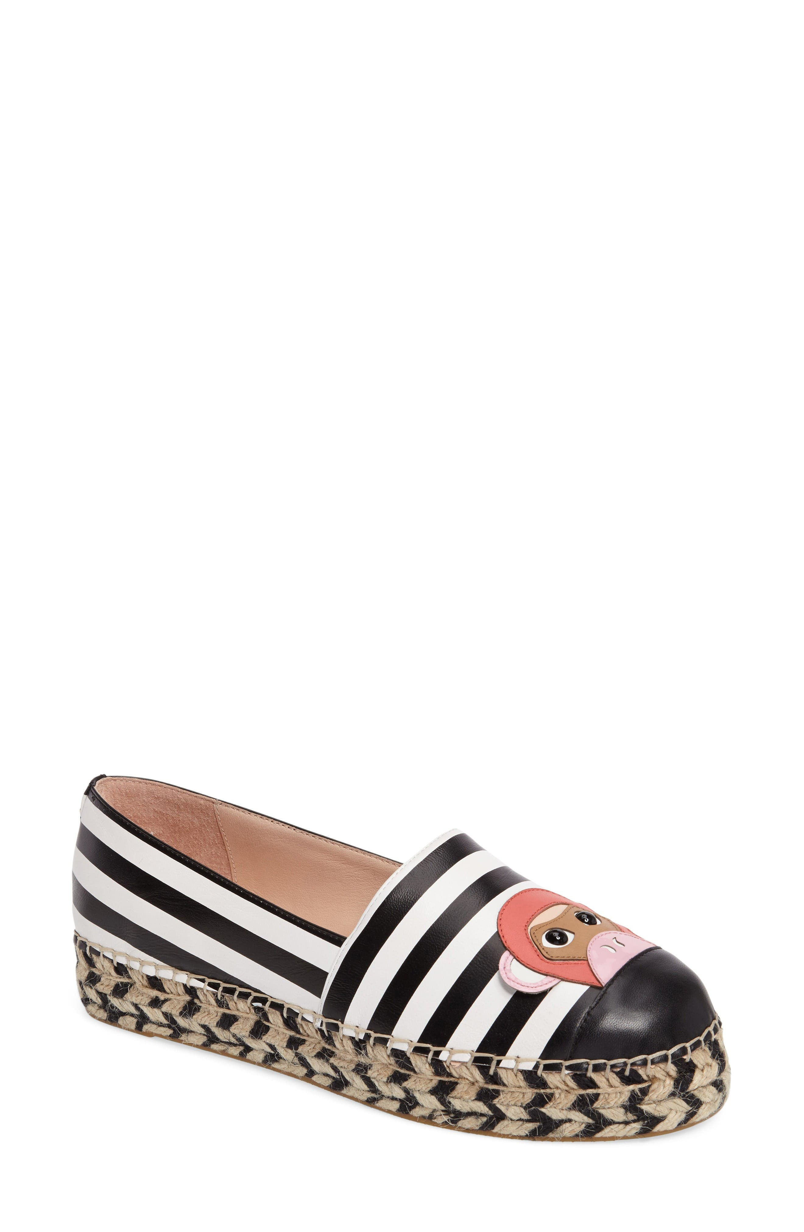 KATE SPADE NEW YORK lincoln platform espadrille
