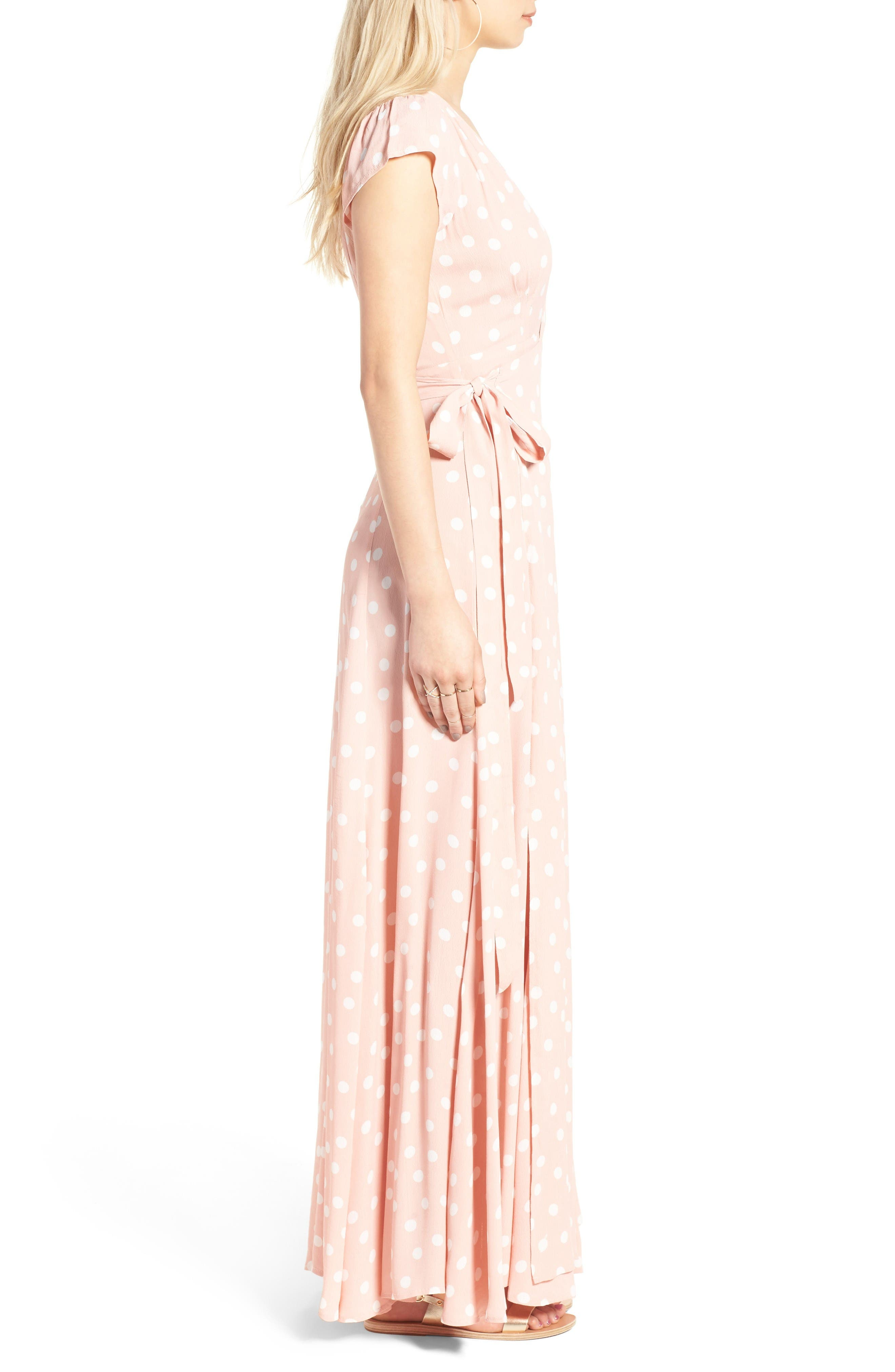 Alternate Image 3  - Tularosa Sid Wrap Maxi Dress (Nordstrom Exclusive)