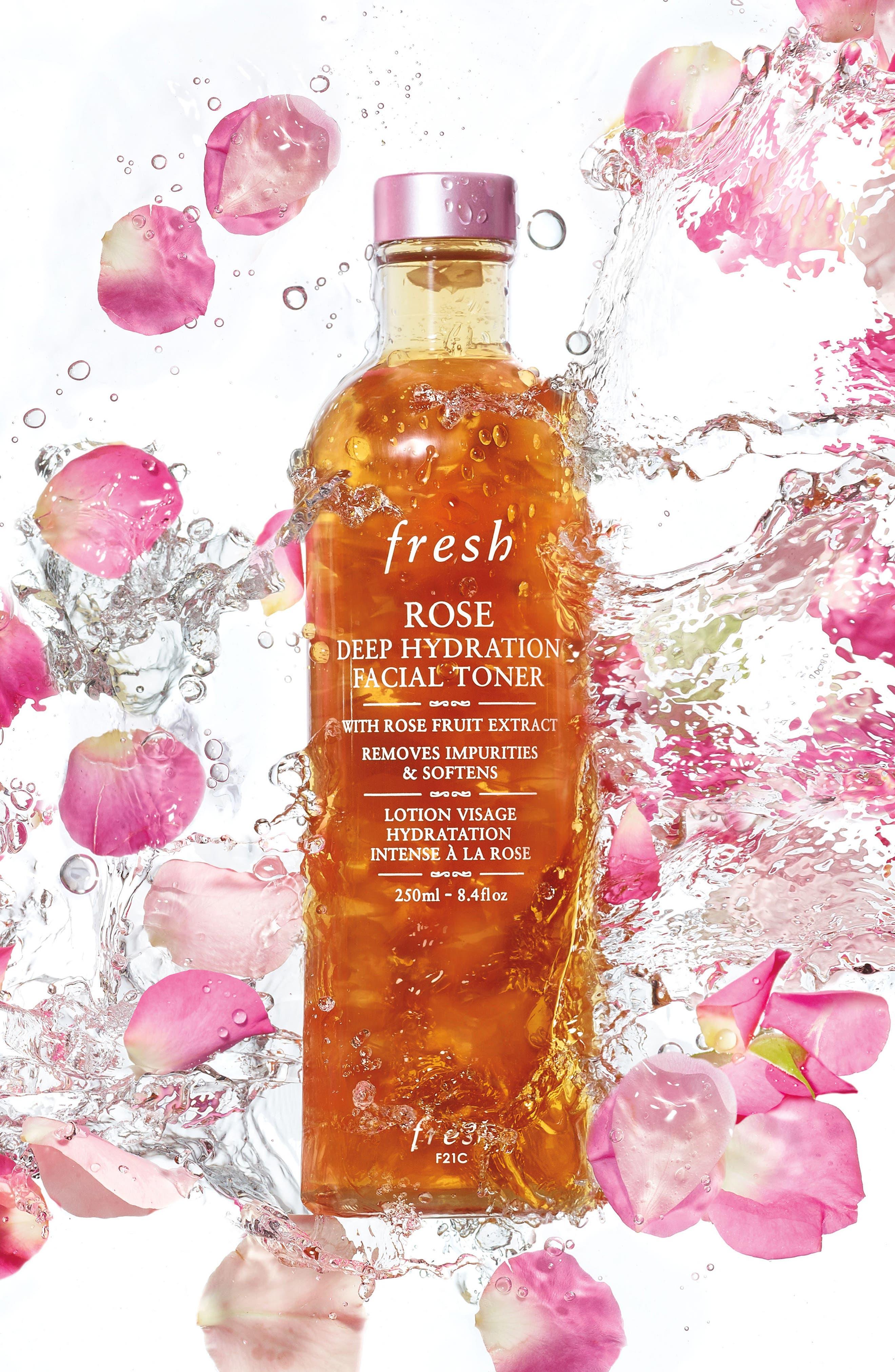 Alternate Image 2  - Fresh® Rose Deep Hydration Facial Toner