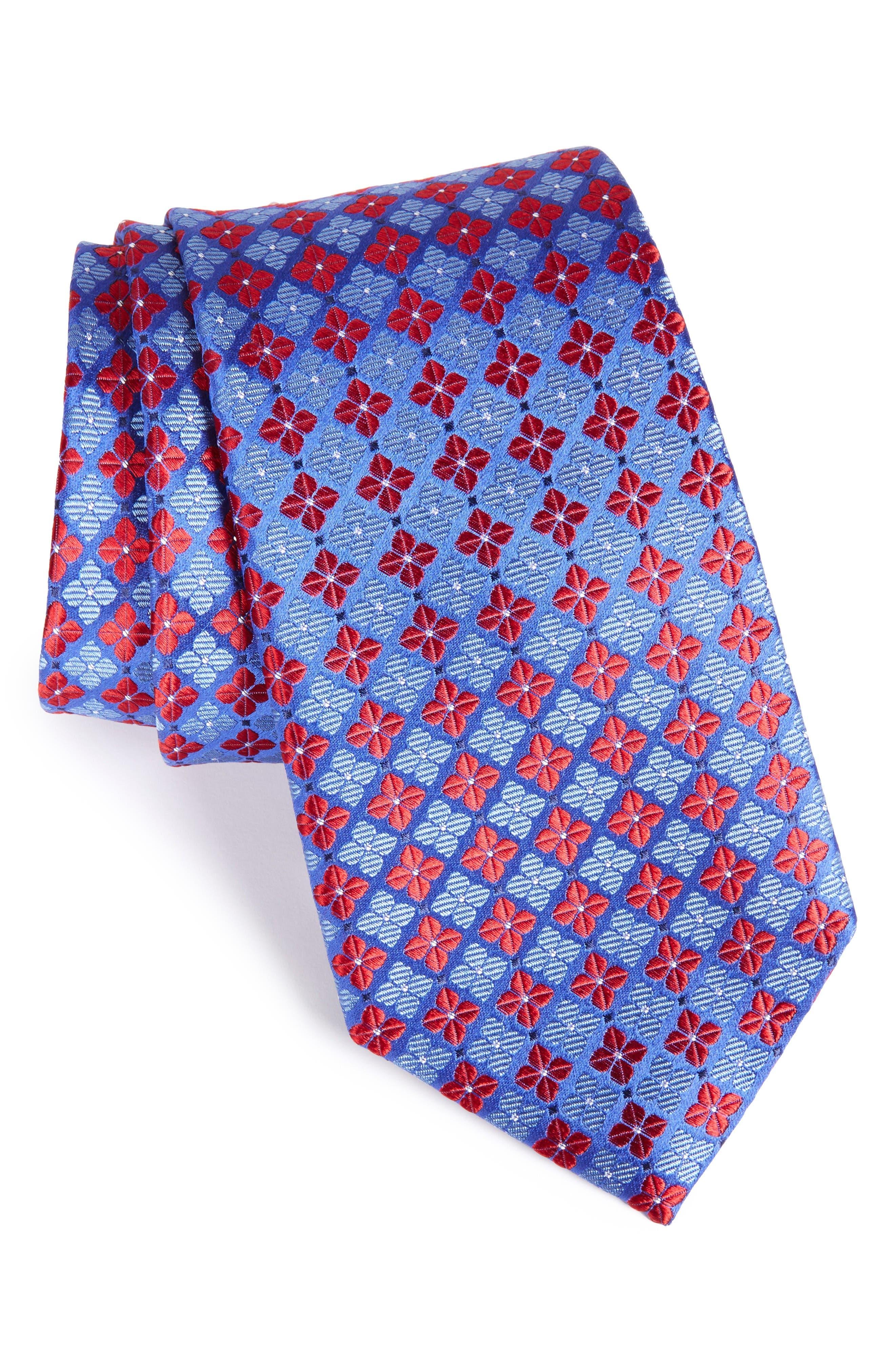 Nordstrom Men's Shop Shamrock Silk Tie