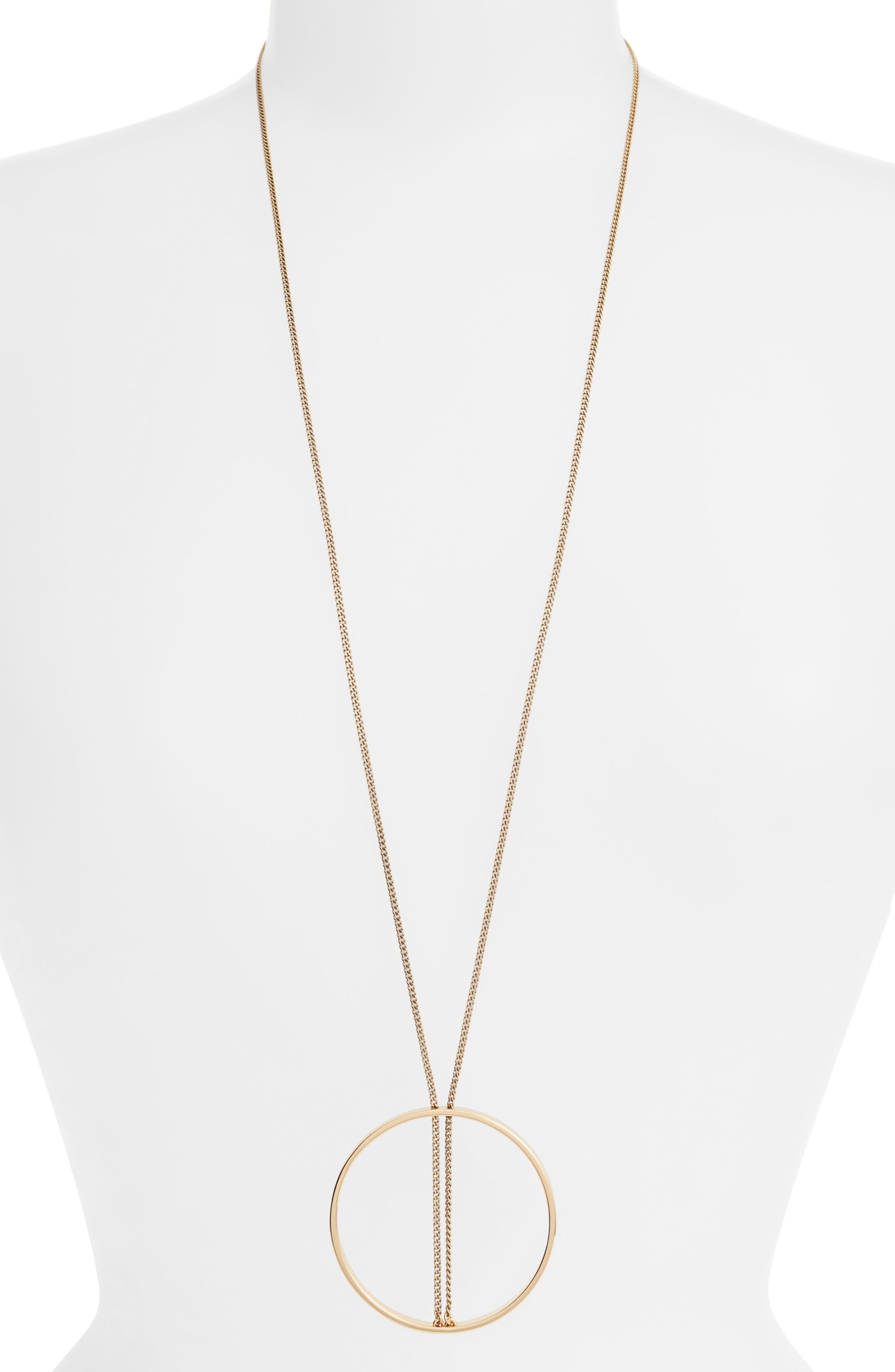 Jenny Bird Halo Pendant Necklace