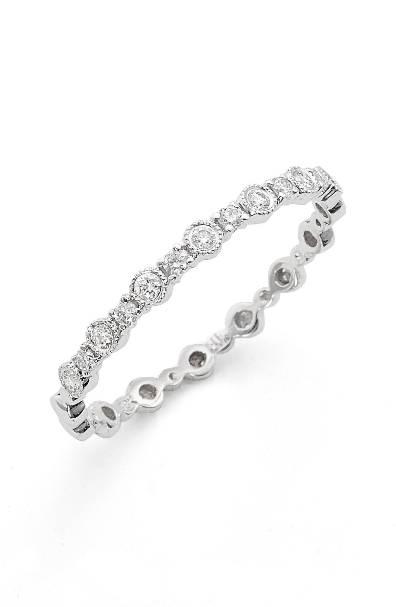 Bony Levy 'Gianna' Diamond Stacking Ring (Nordstrom Exclusive)