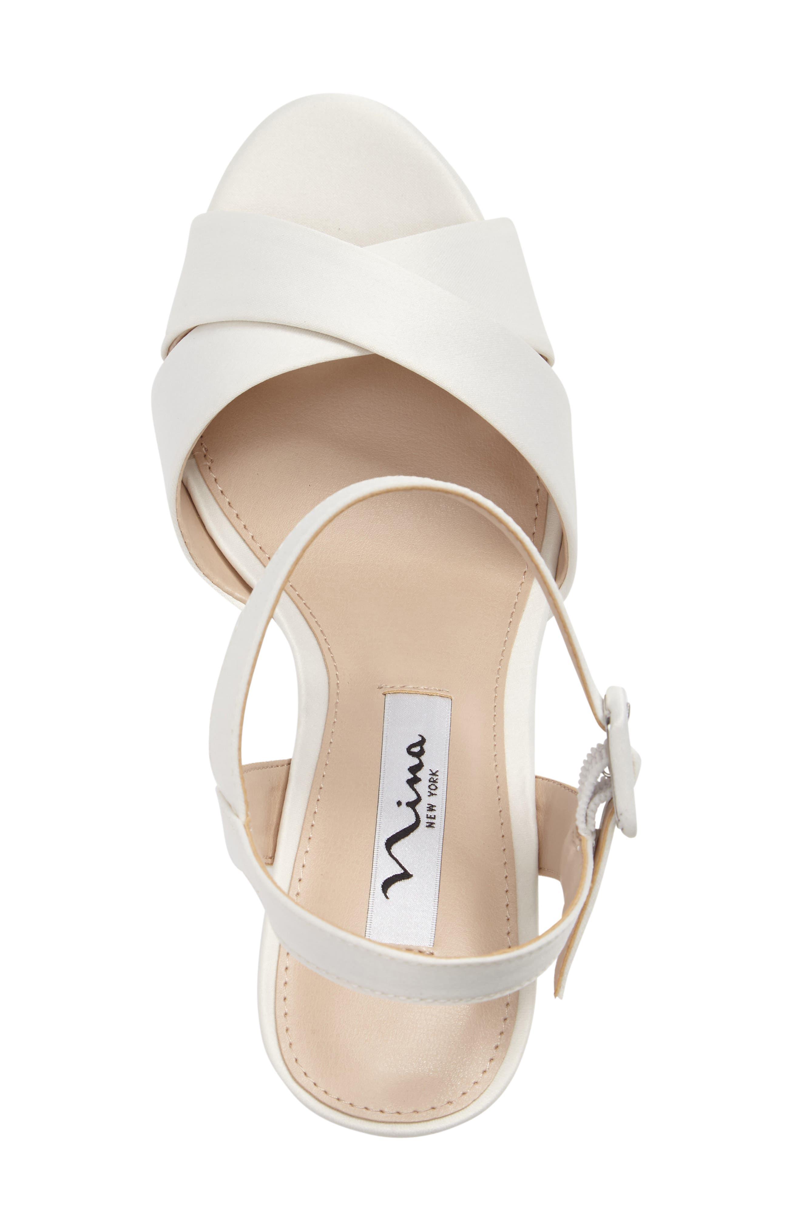 Alternate Image 3  - Nina Jinjer Platform Wedge Sandal (Women)