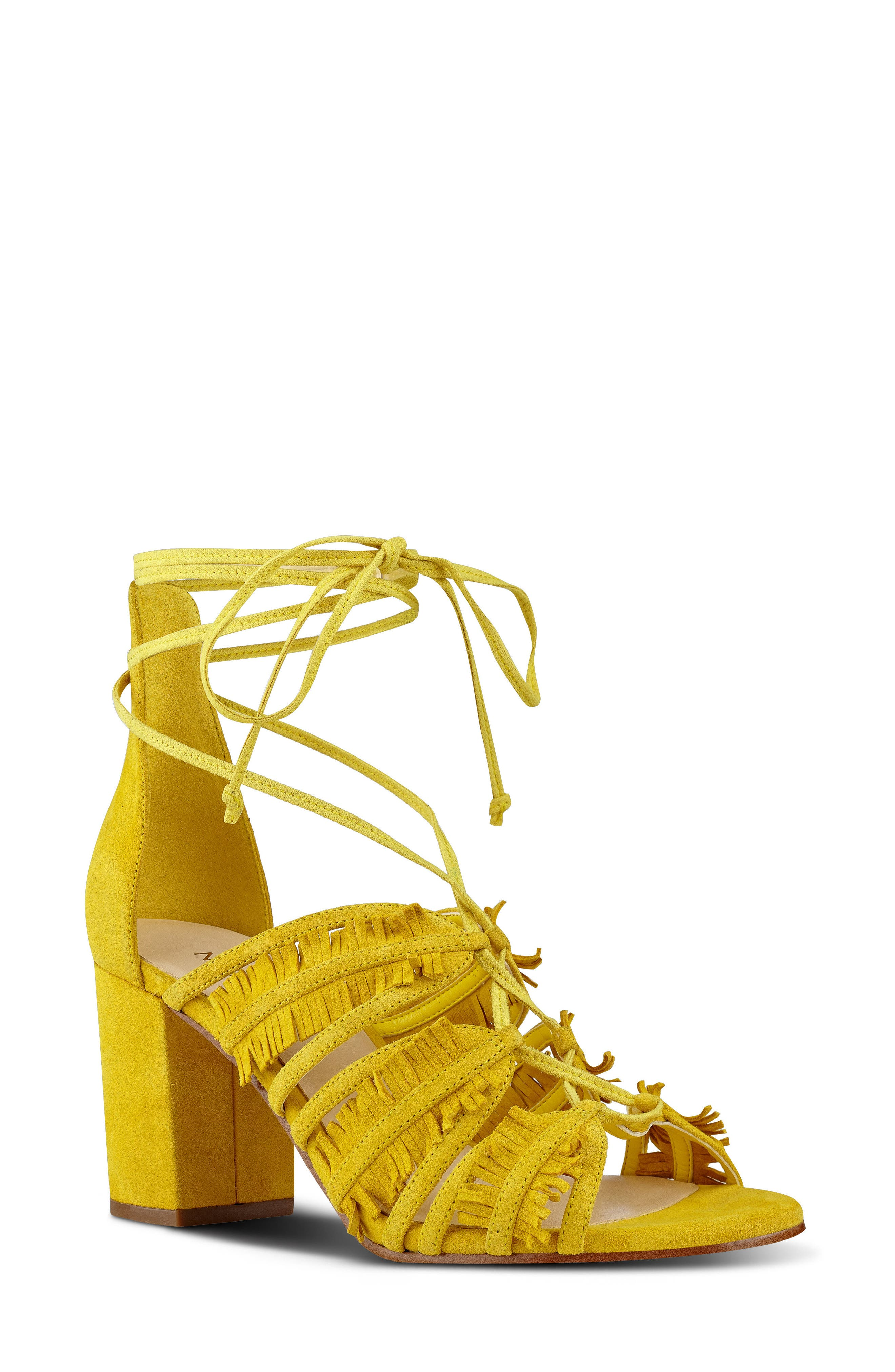 Nine West Genie Lace-Up Sandal (Women)