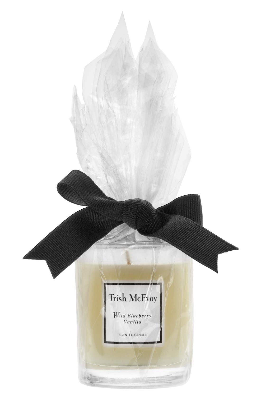 Trish McEvoy Wild Blueberry Vanilla Votive Candle