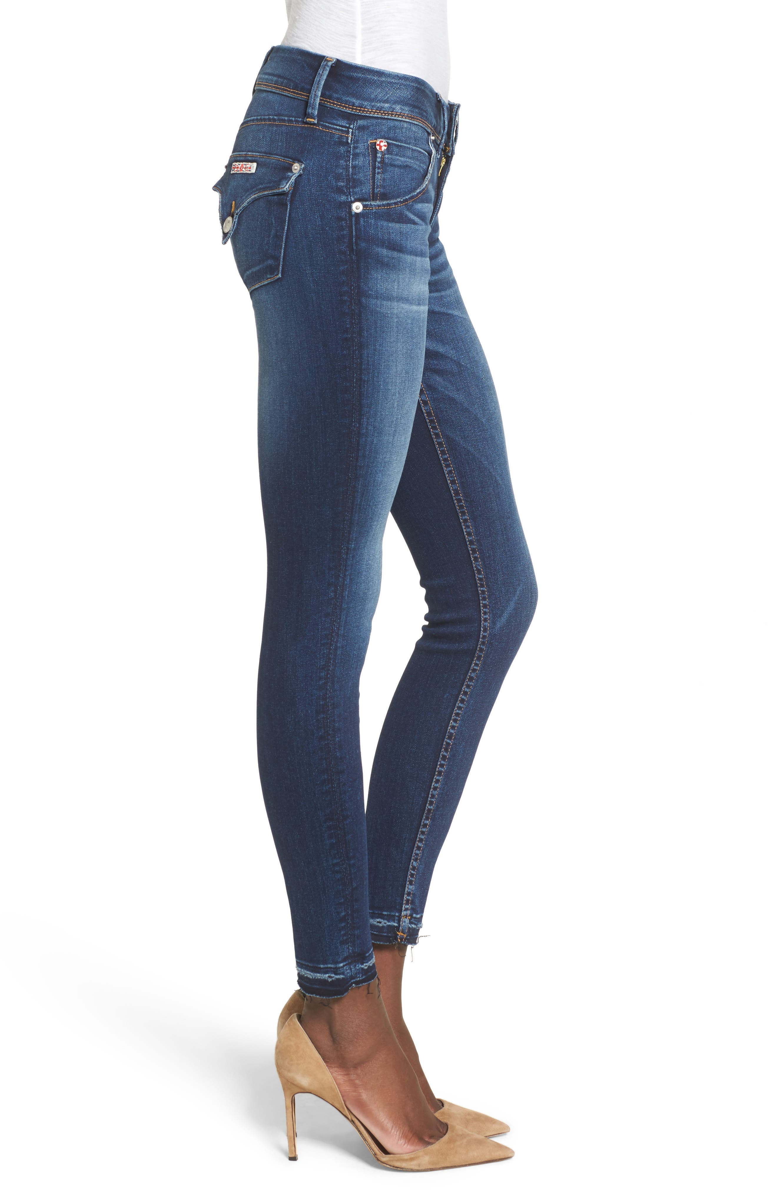 Alternate Image 3  - Hudson Jeans Collin Skinny Jeans (Pin Point)