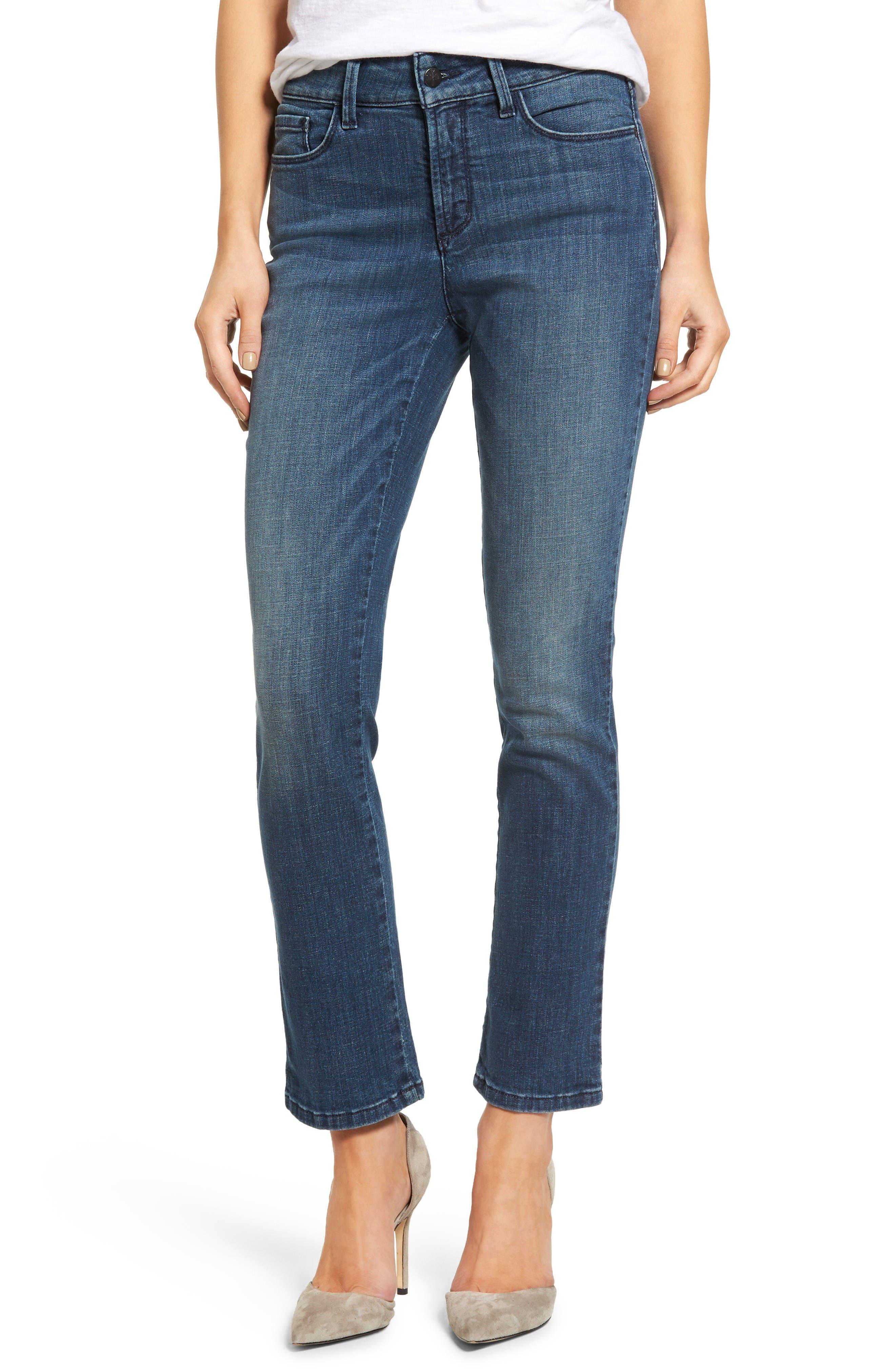 NYDJ Alina Stretch Skinny Ankle Jeans (Hyperion)