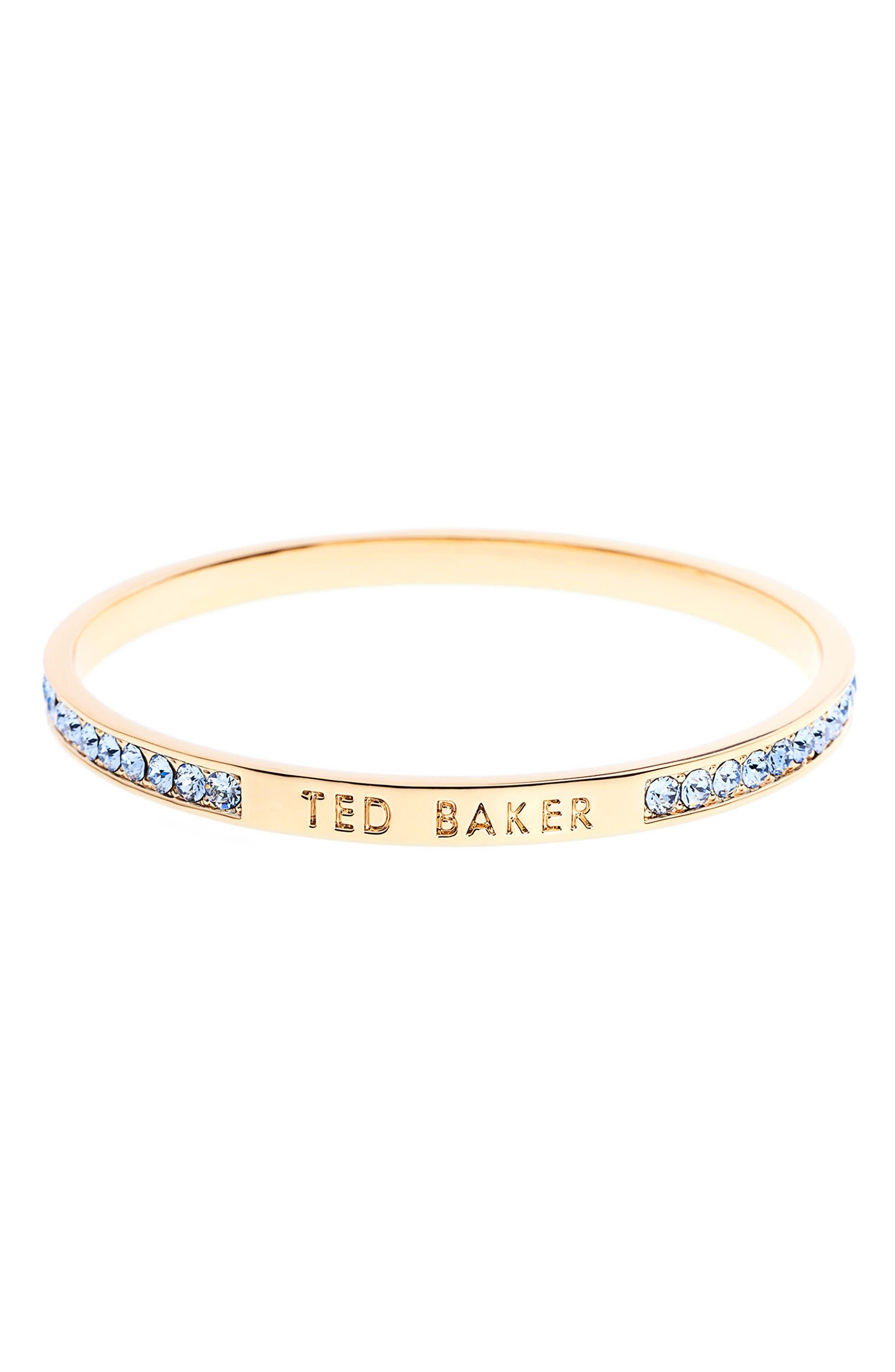 Ted Baker London 'Clem' Narrow Crystal Bangle