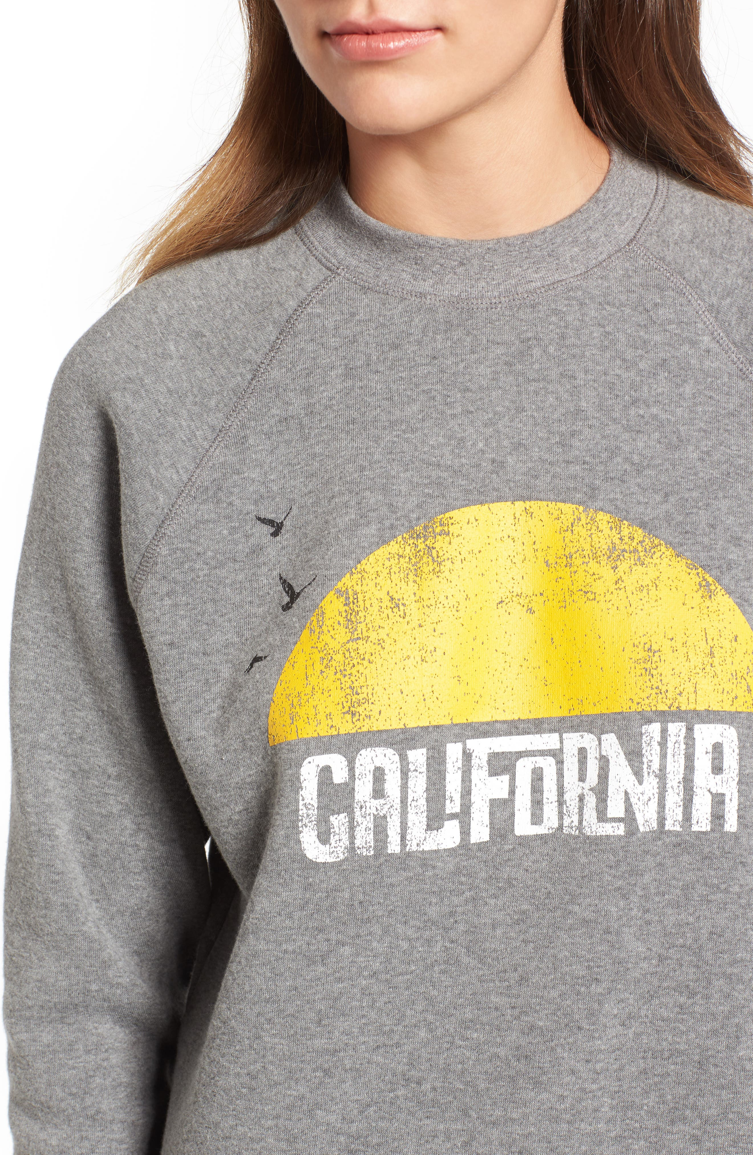 Alternate Image 5  - Rebecca Minkoff California Sunset Sweatshirt