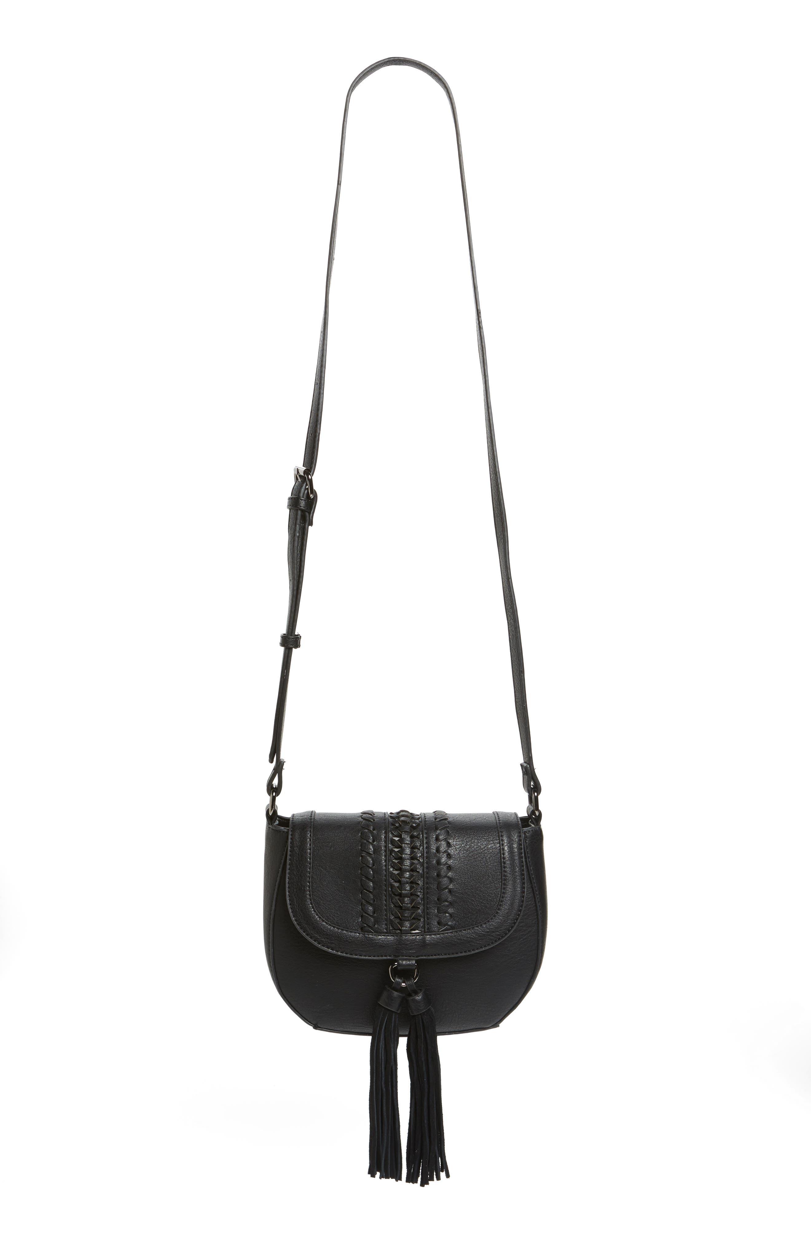 Main Image - Phase 3 Tassel Crossbody Bag