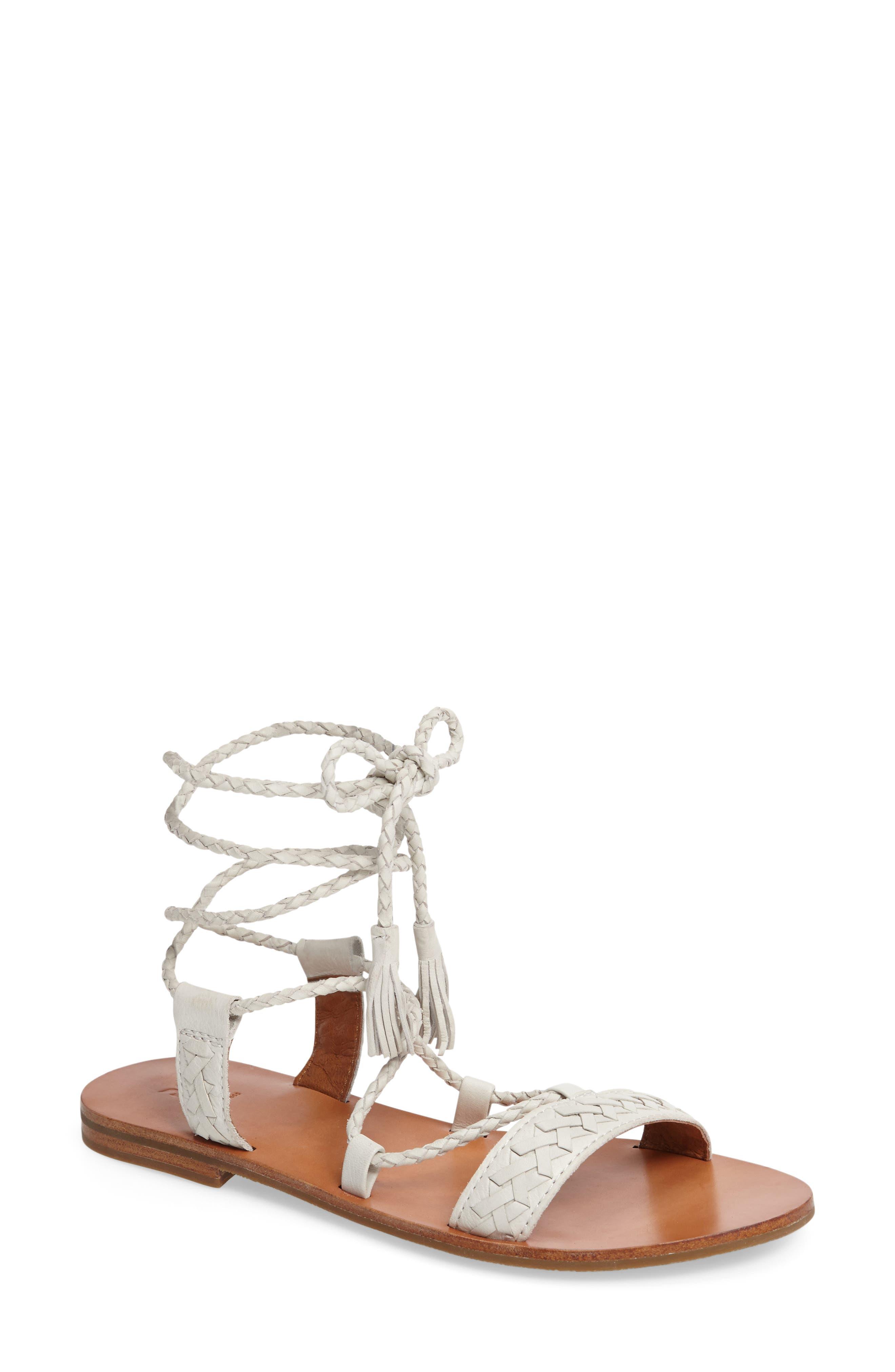 Frye Ruth Lace-Up Sandal (Women)