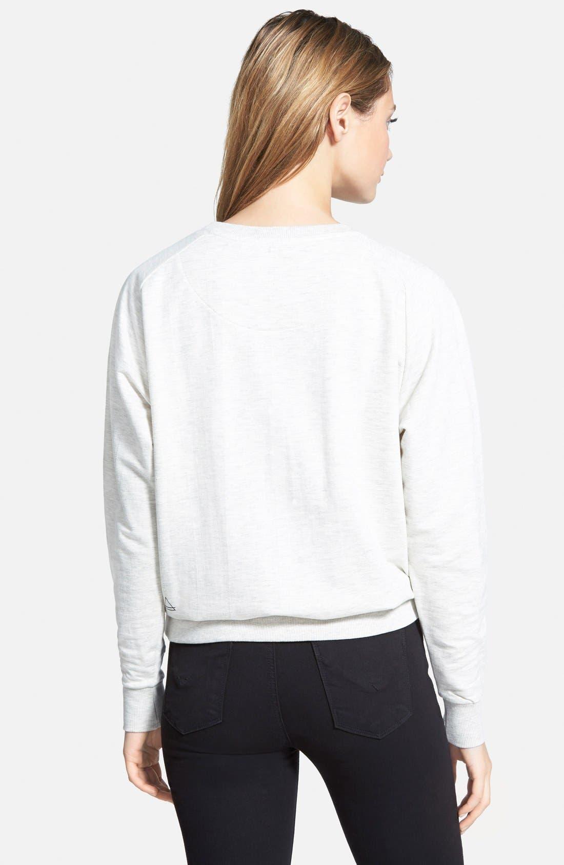 Alternate Image 2  - ELEVENPARIS 'Life Is a Joke' Pullover Sweatshirt