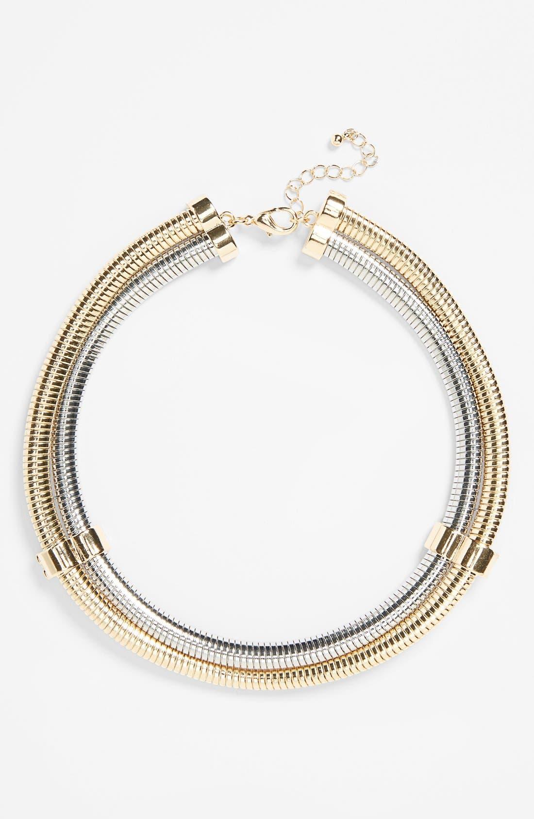 Main Image - Topshop High Collar Necklace