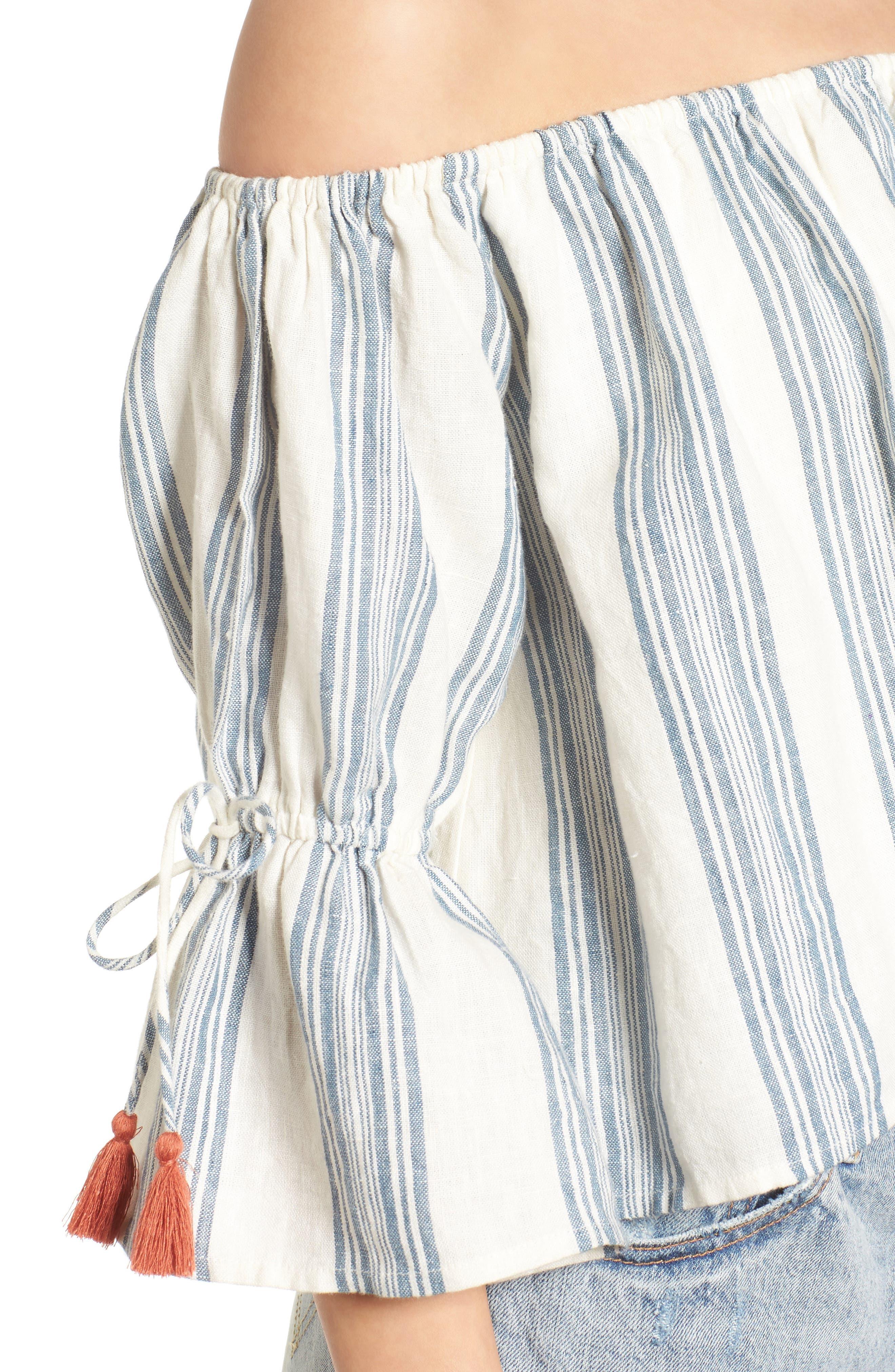 Alternate Image 5  - Tularosa Alexa Off the Shoulder Lace Top