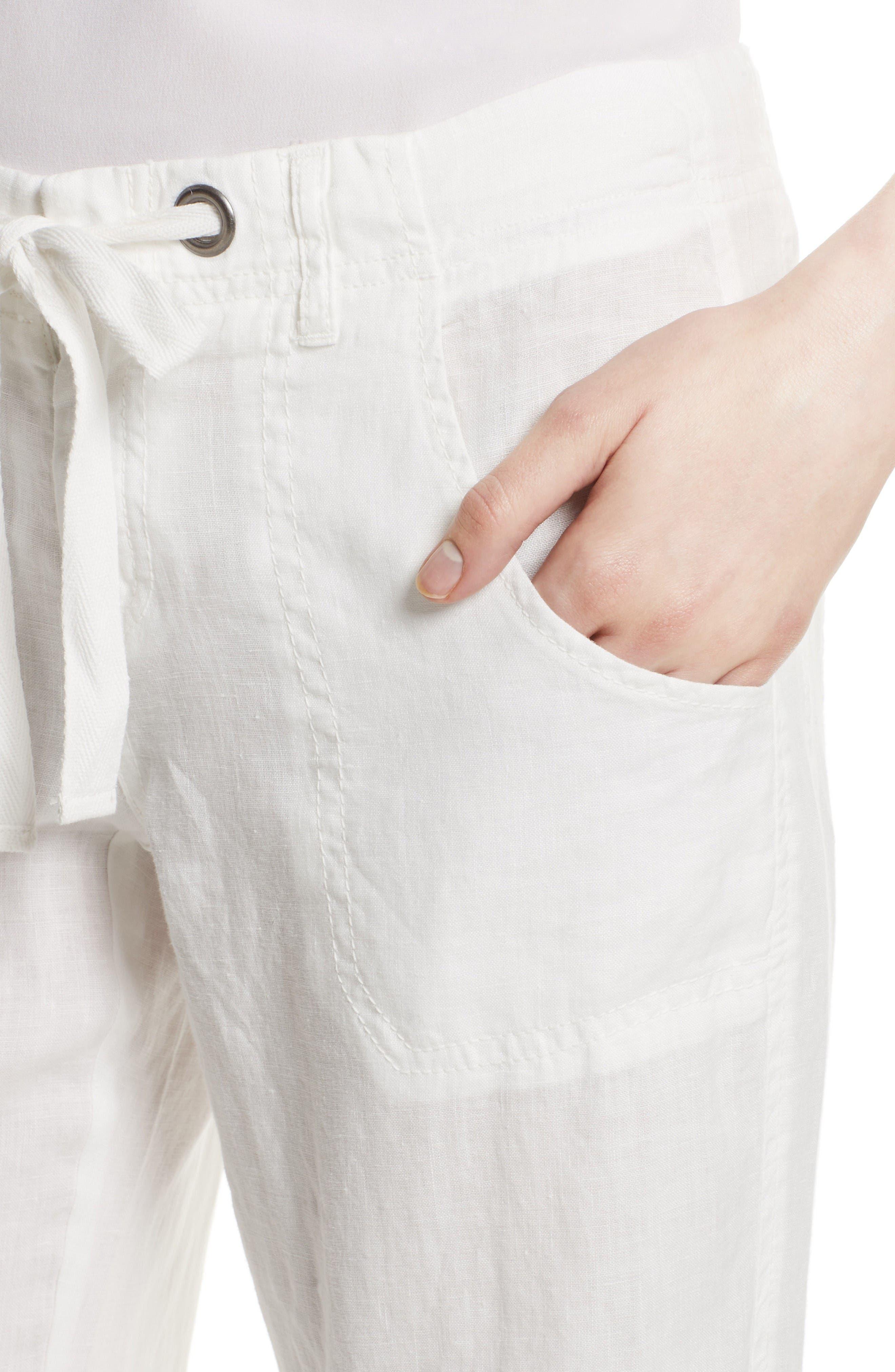 Alternate Image 4  - Joie Wide Leg Linen Pants