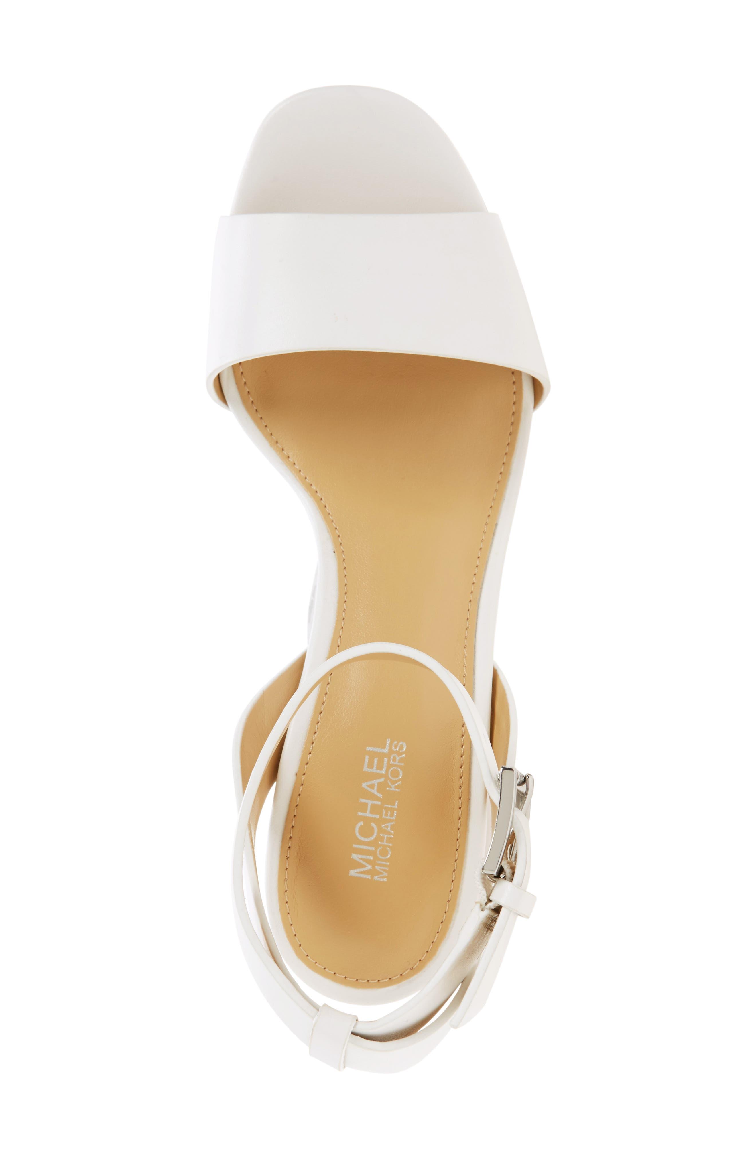 Alternate Image 5  - MICHAEL Michael Kors Leonora Platform Sandal (Women)