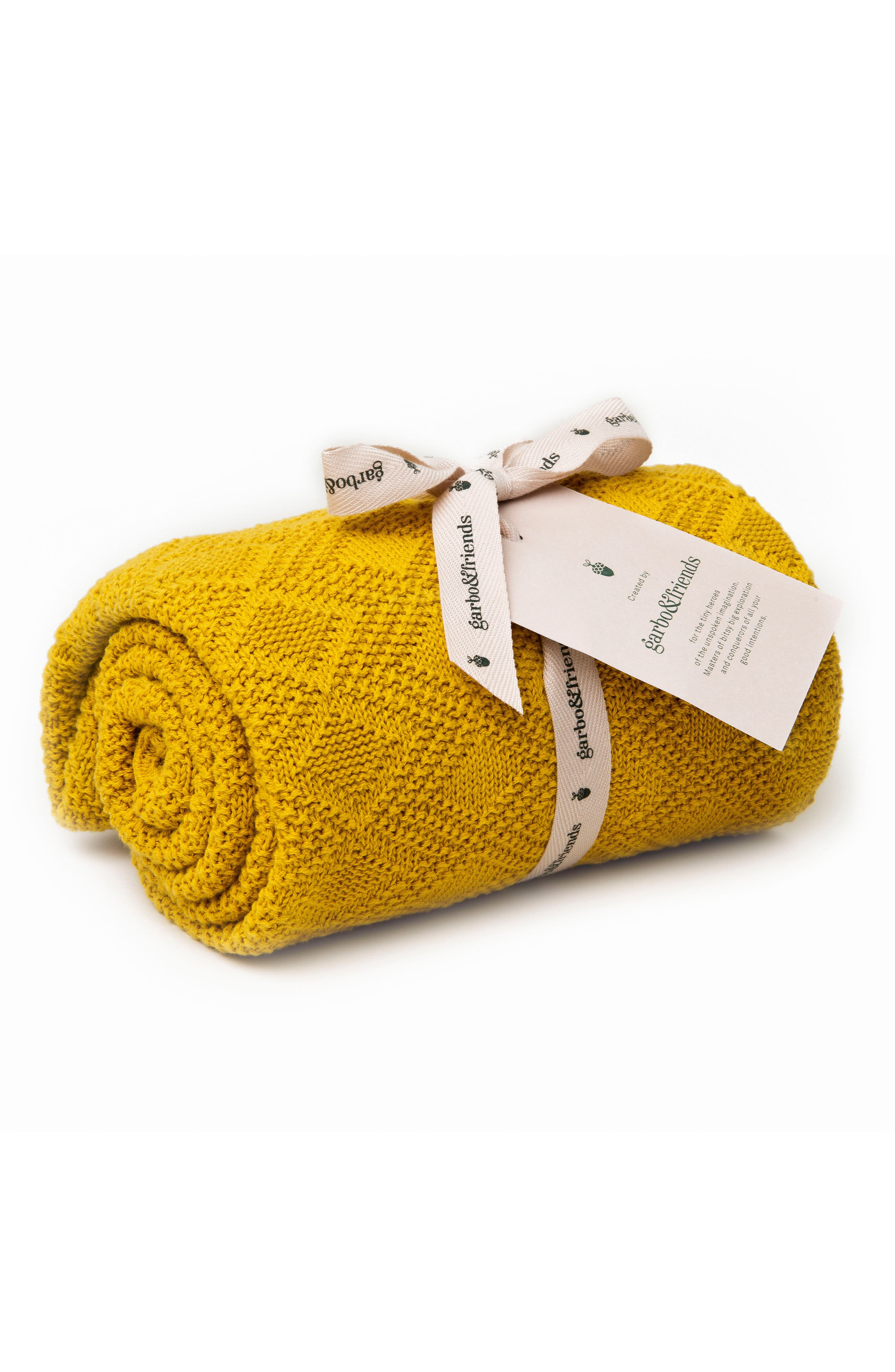 Garbo&Friends Ollie Cotton Blanket