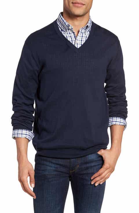 Gant Regular Fit V-Neck Sweater