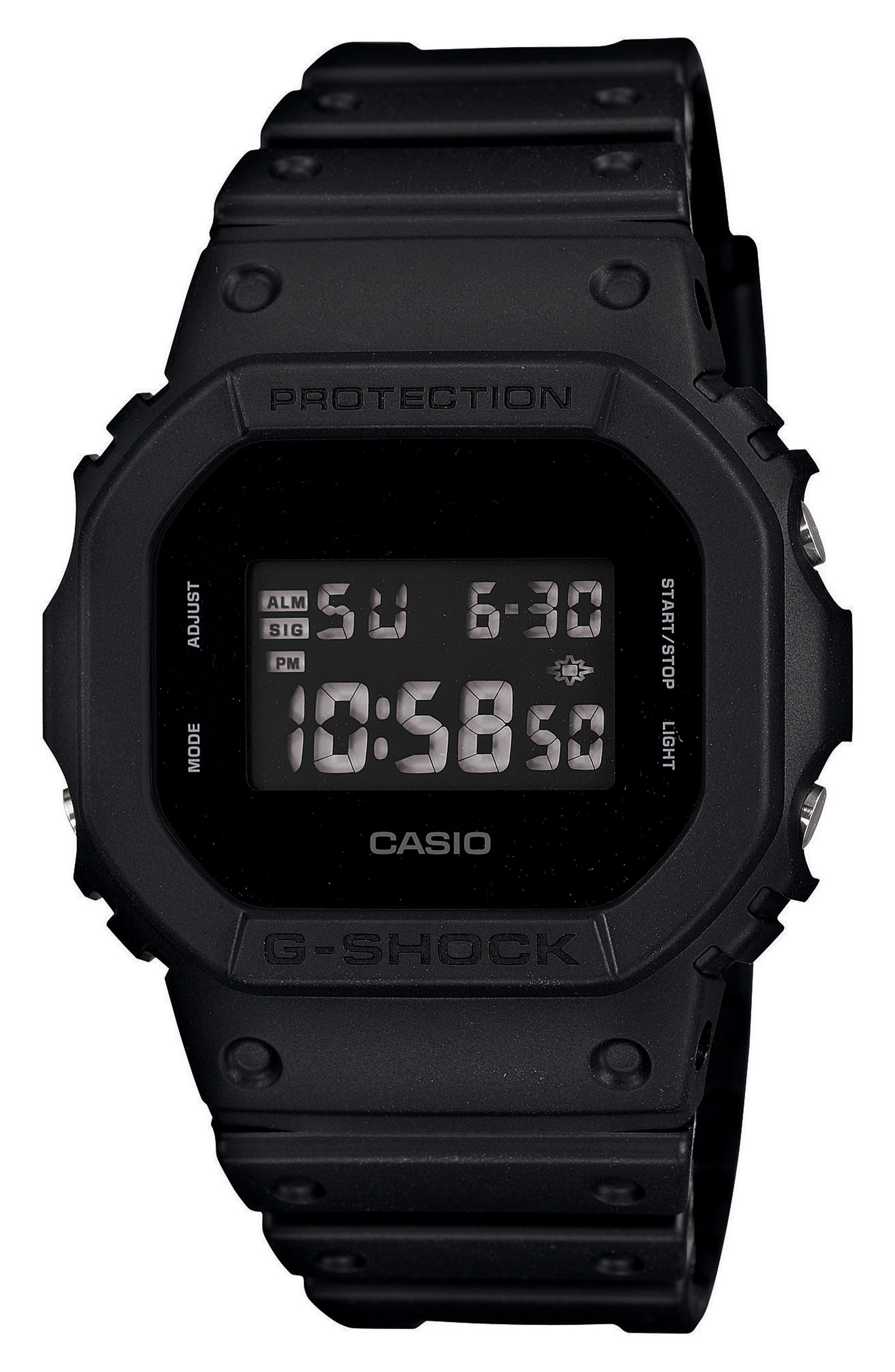 G-Shock Square Digital Watch, 48mm