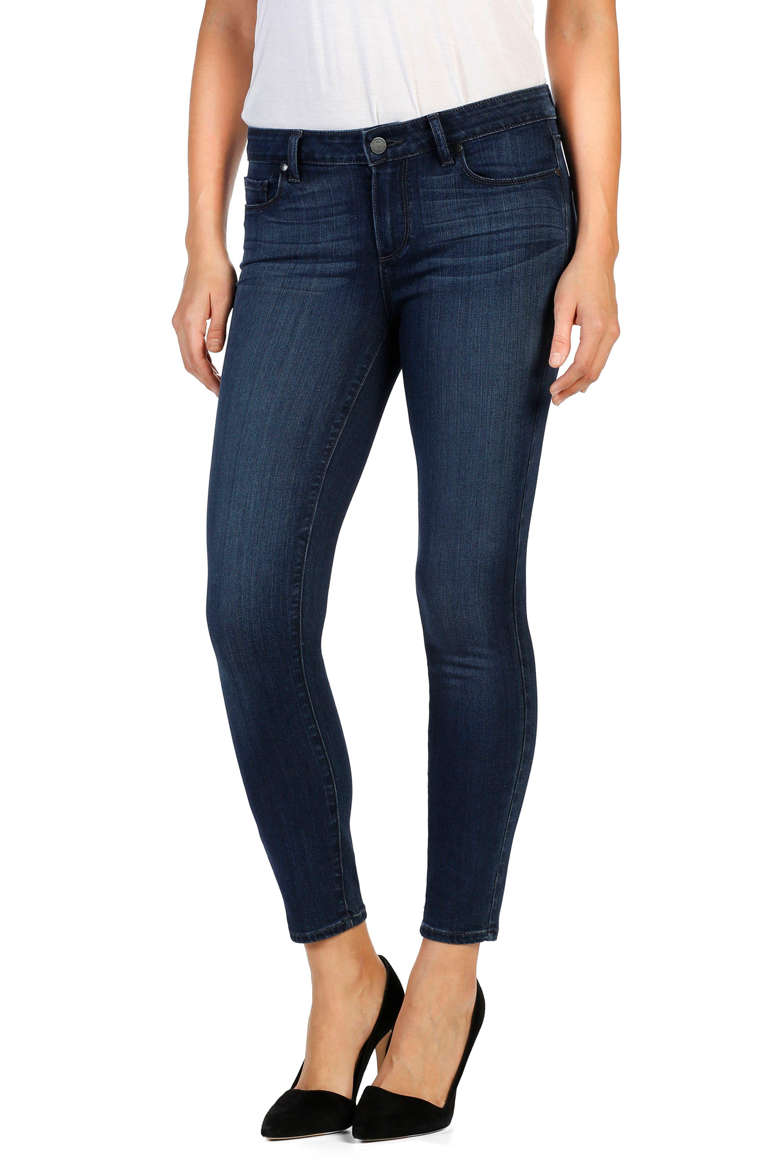 PAIGE Verdugo Crop Ultra Skinny Jeans (Edie)