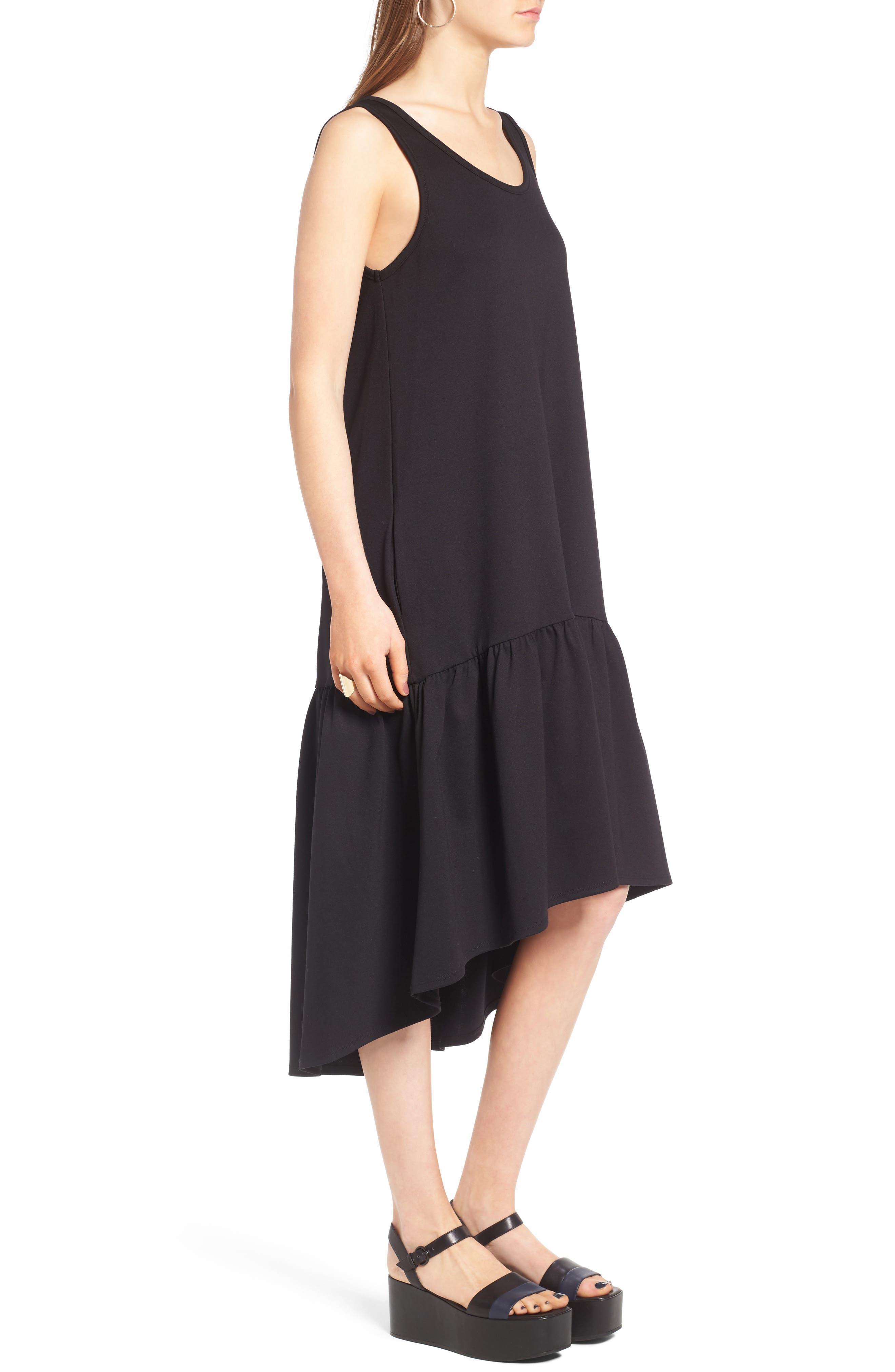 Alternate Image 3  - Leith Flounce Midi Dress