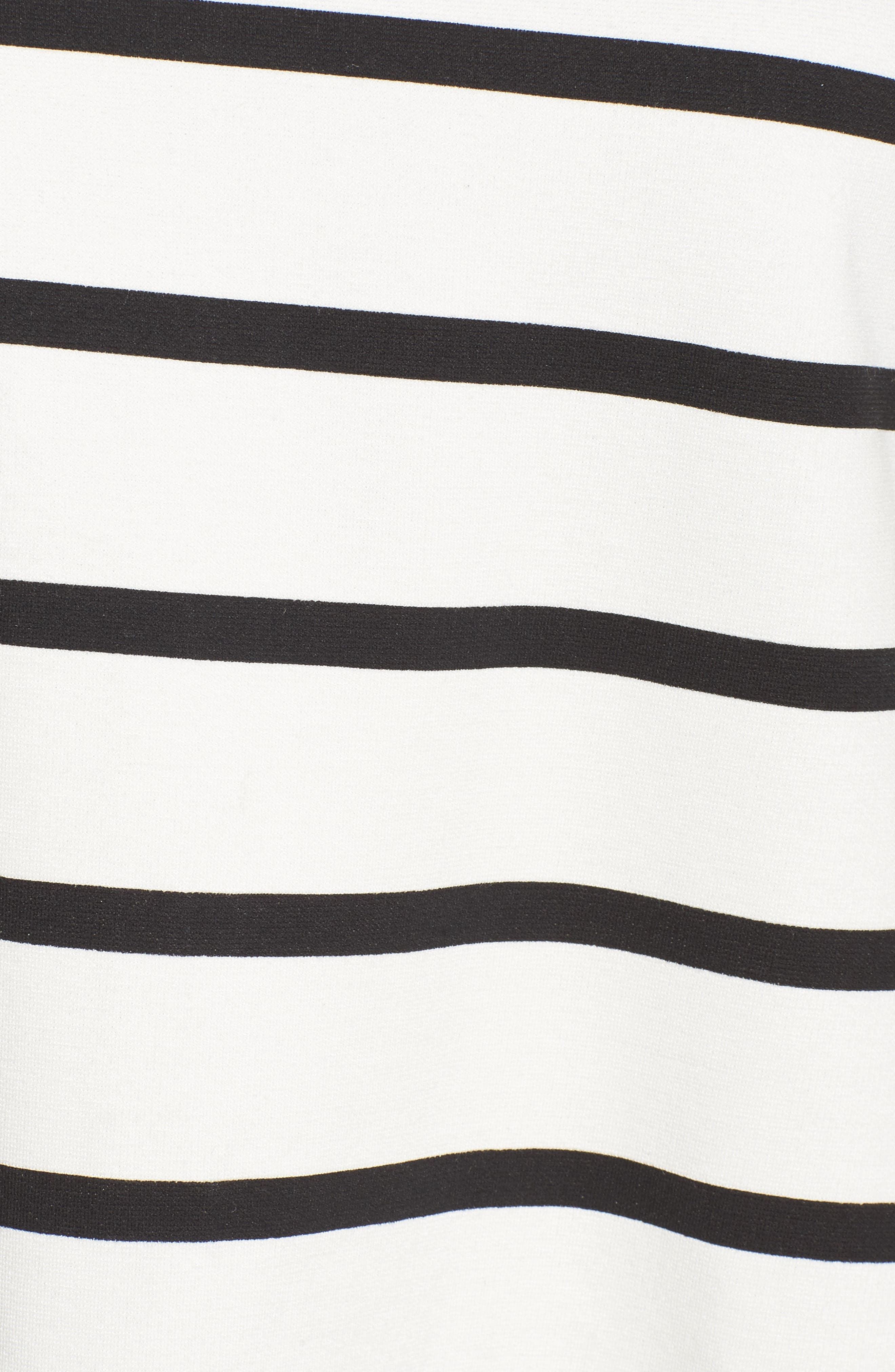 Alternate Image 5  - Press Stripe A-Line Dress