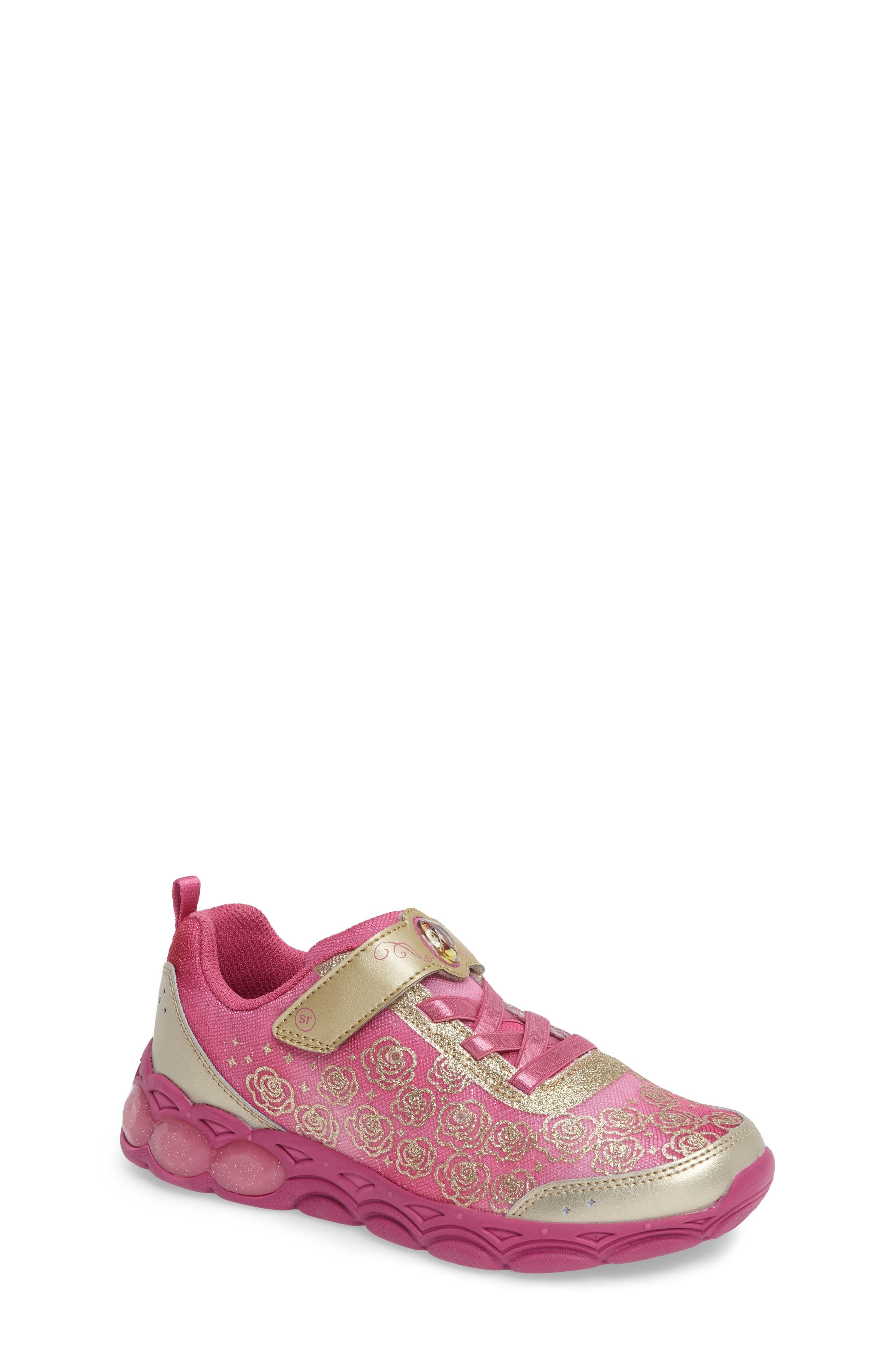 Stride Rite Disney Belle of the Ball Sneaker (Walker, Toddler & Little Kid)