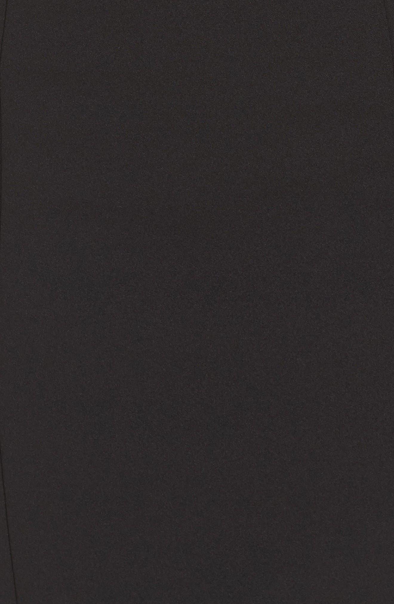 Alternate Image 6  - Vince Camuto Crepe Sheath Dress (Regular & Petite)