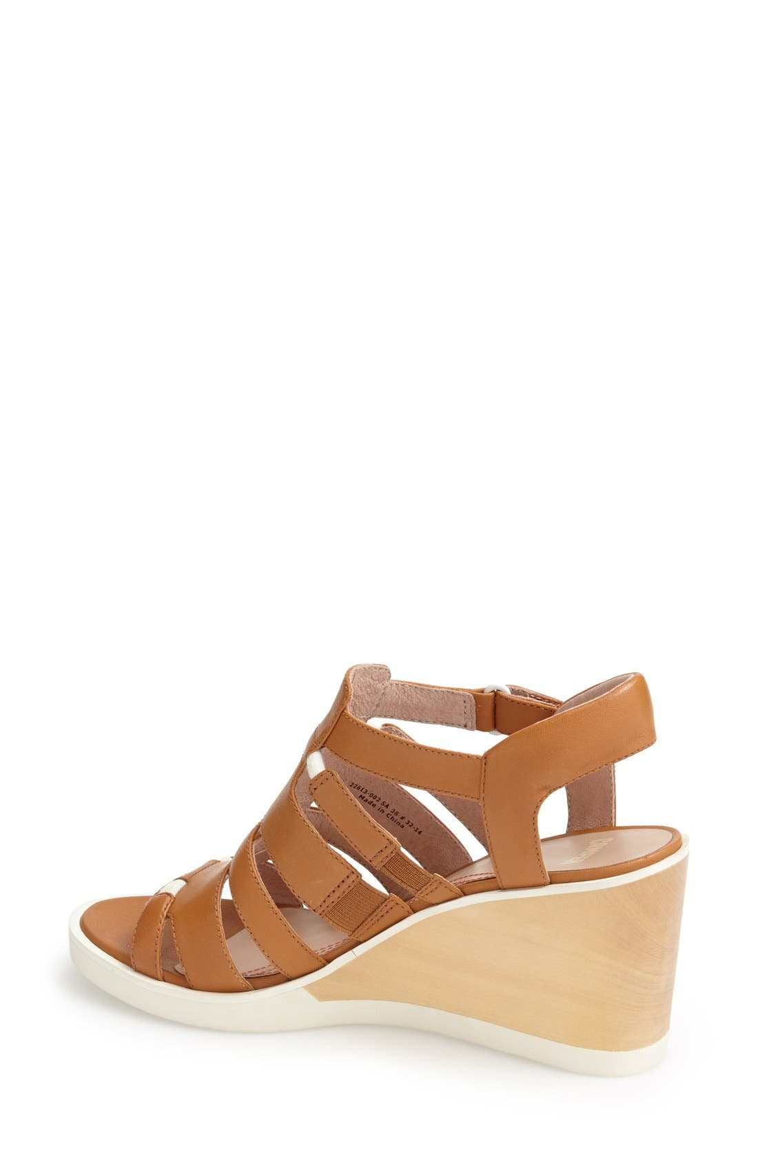 Alternate Image 2  - Camper 'Limi' Strappy Wedge Sandal (Women)