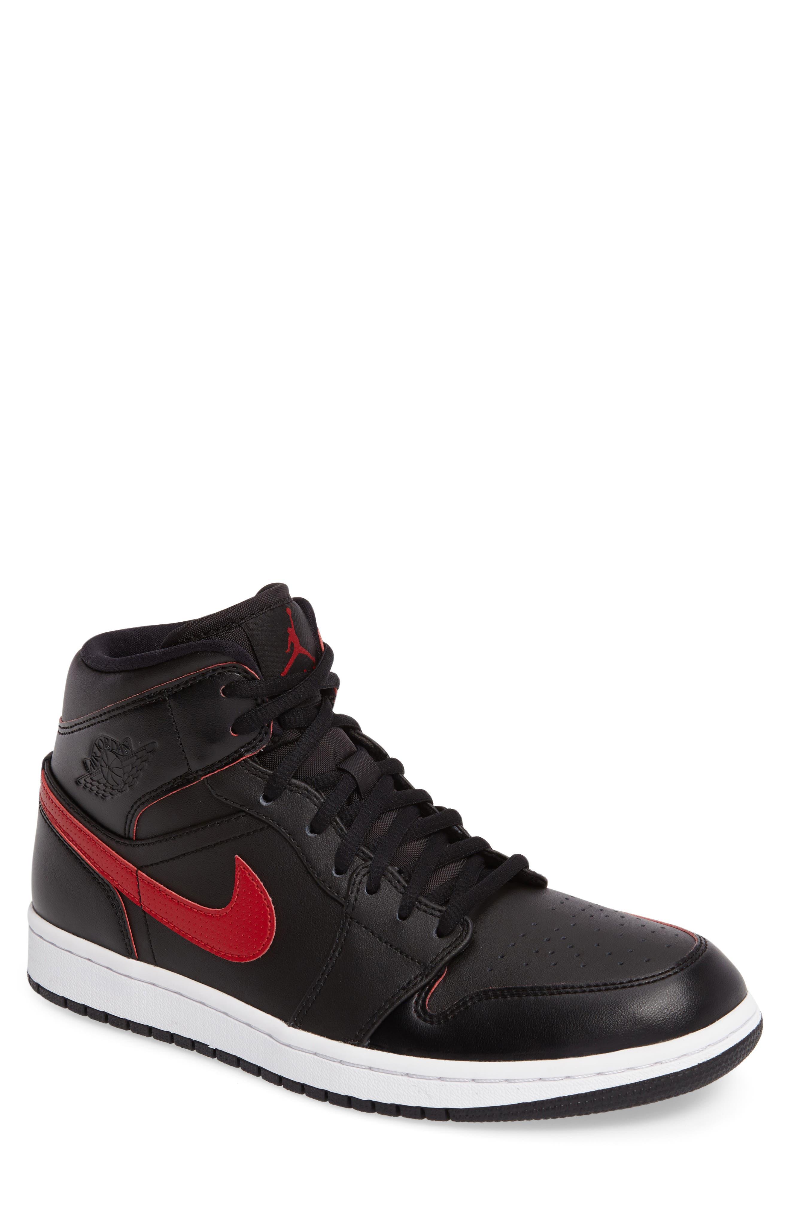 Main Image - Nike 'Air Jordan 1 Mid' Sneaker (Men)
