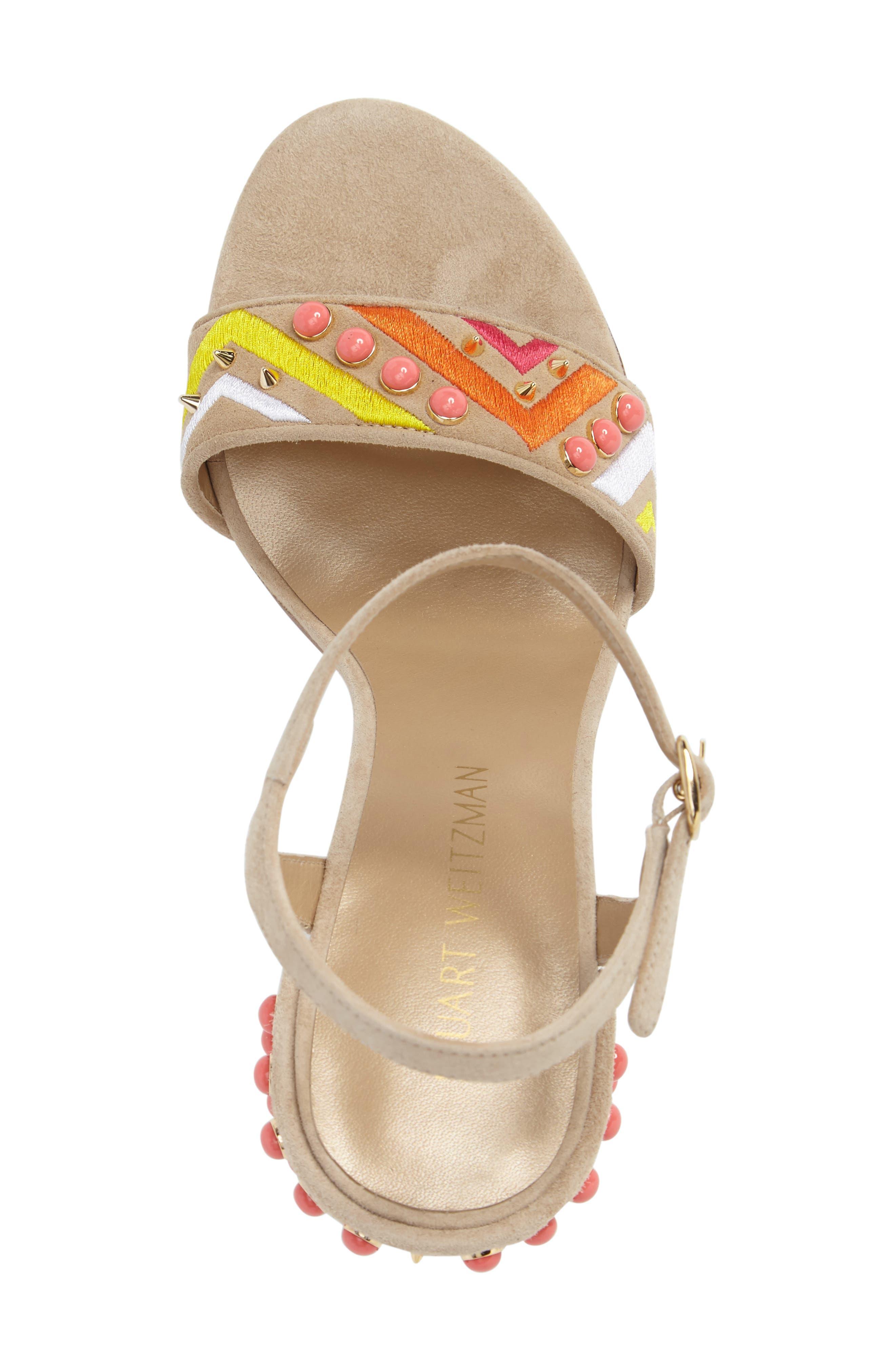 Alternate Image 5  - Stuart Weitzman Both Embellished Sandal (Women)