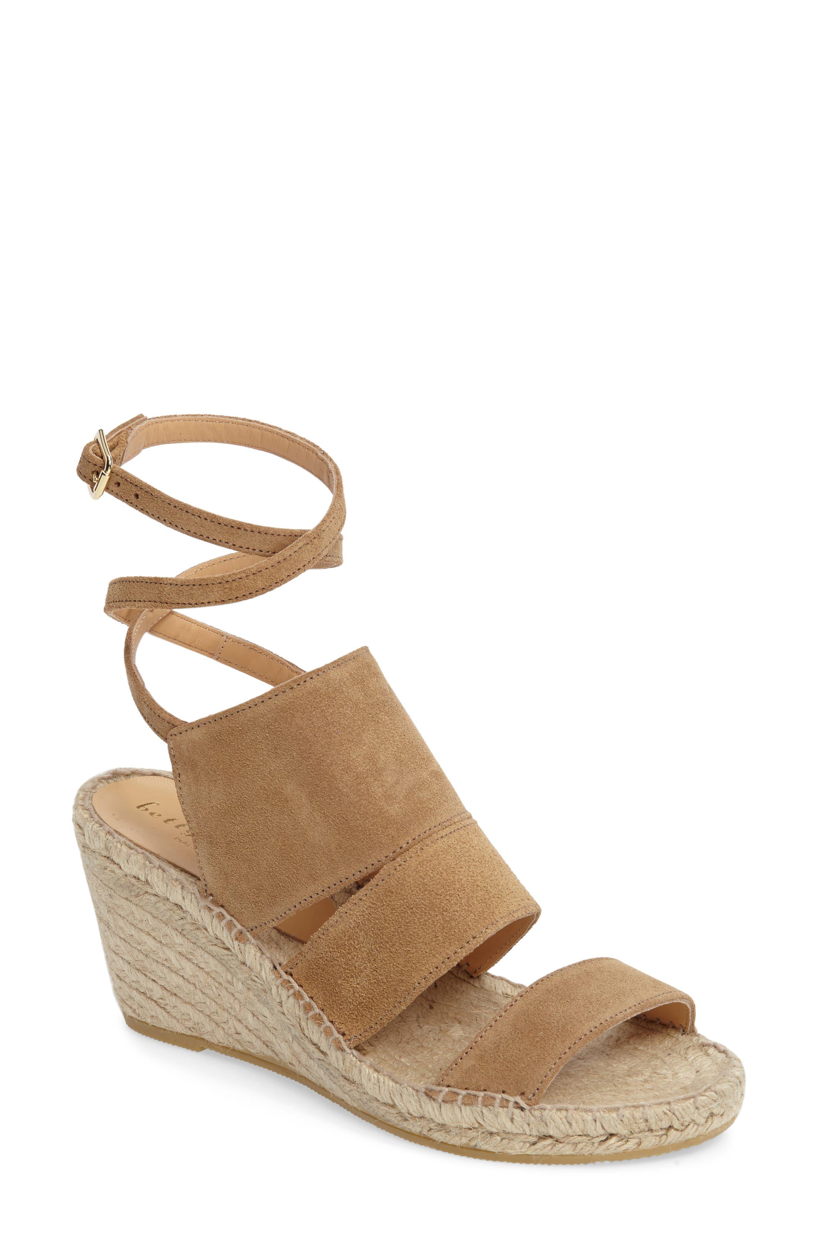 Bettye Muller Dusty Espadrille Wedge Sandal (Women)