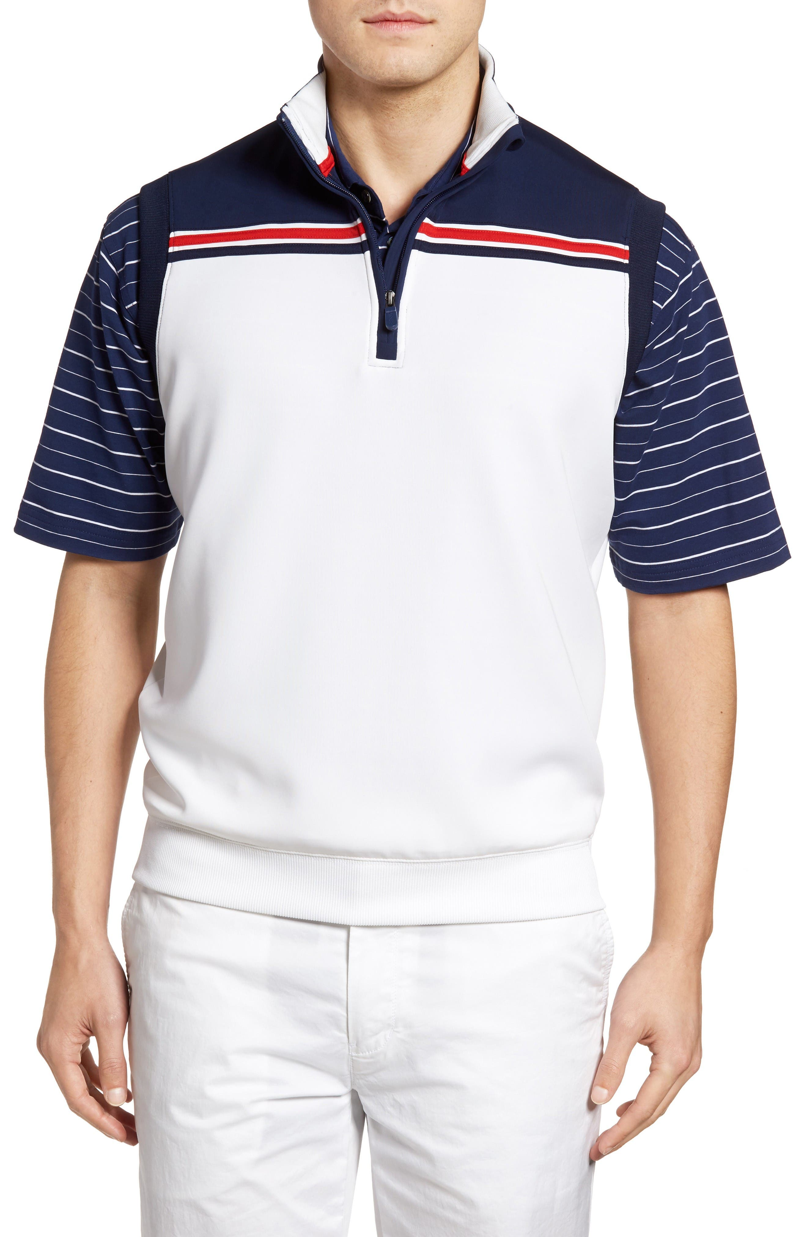 Bobby Jones XH2O Stretch Quarter Zip Golf Vest