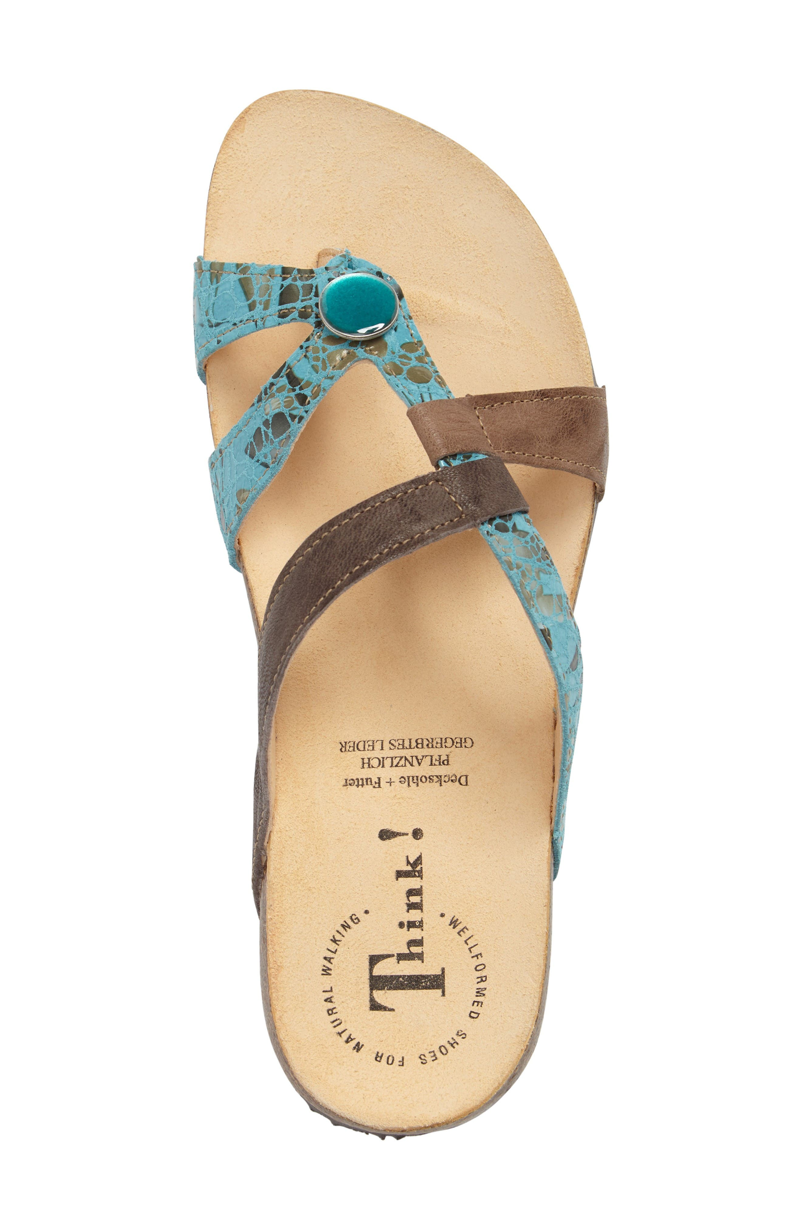 Alternate Image 5  - Think! 'Julia Strappy' Sandal