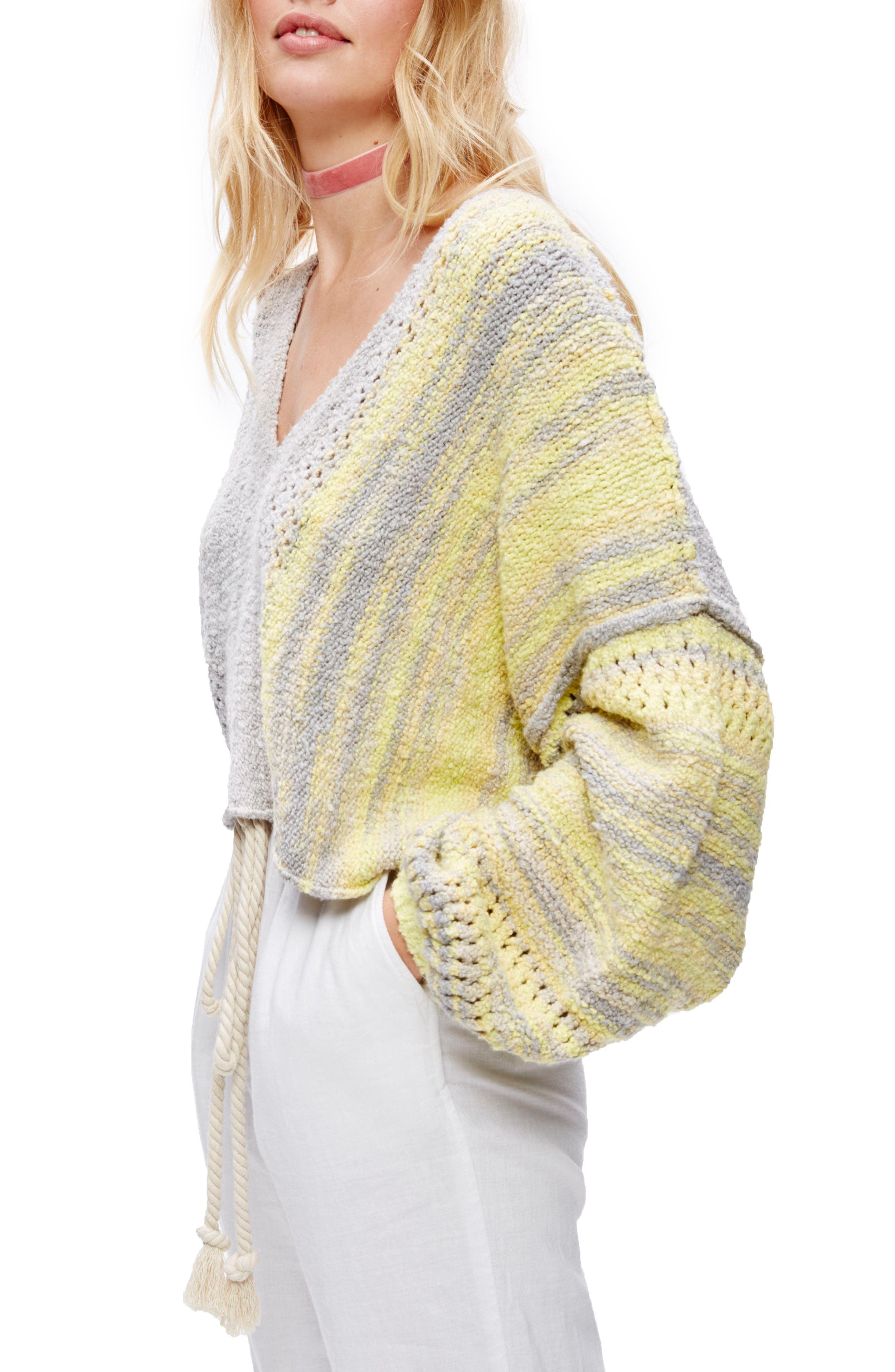 Free People Amethyst Pullover