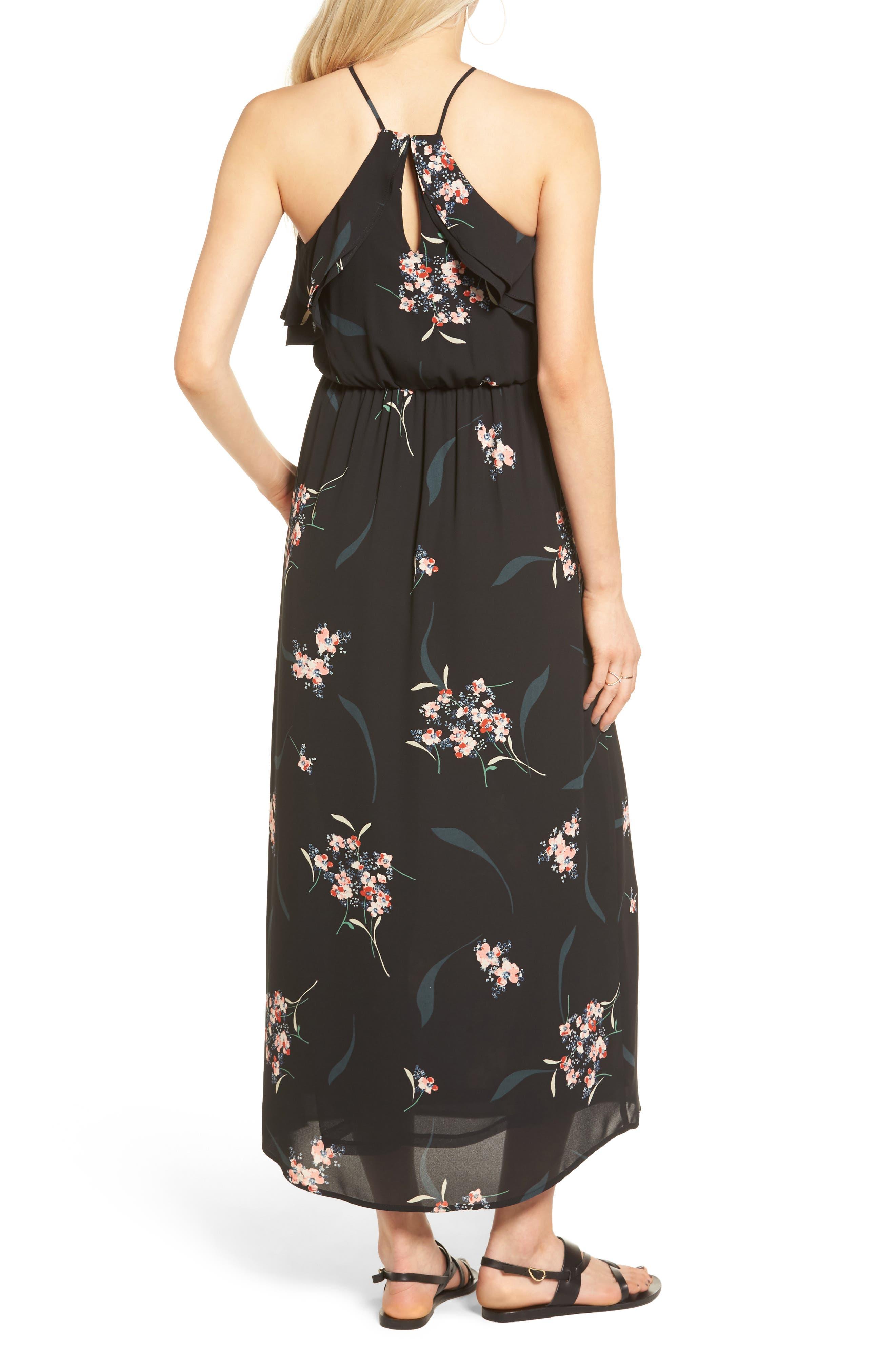 Alternate Image 2  - Lush Ruffle Maxi Dress