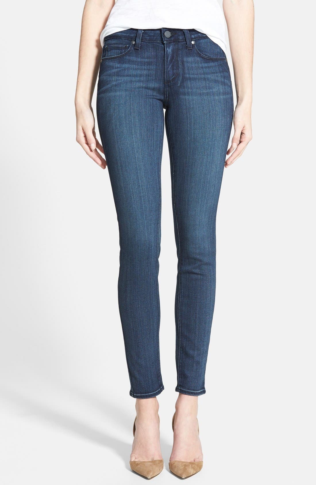Main Image - Paige Denim 'Transcend - Verdugo' Ultra Skinny Jeans (Valor)