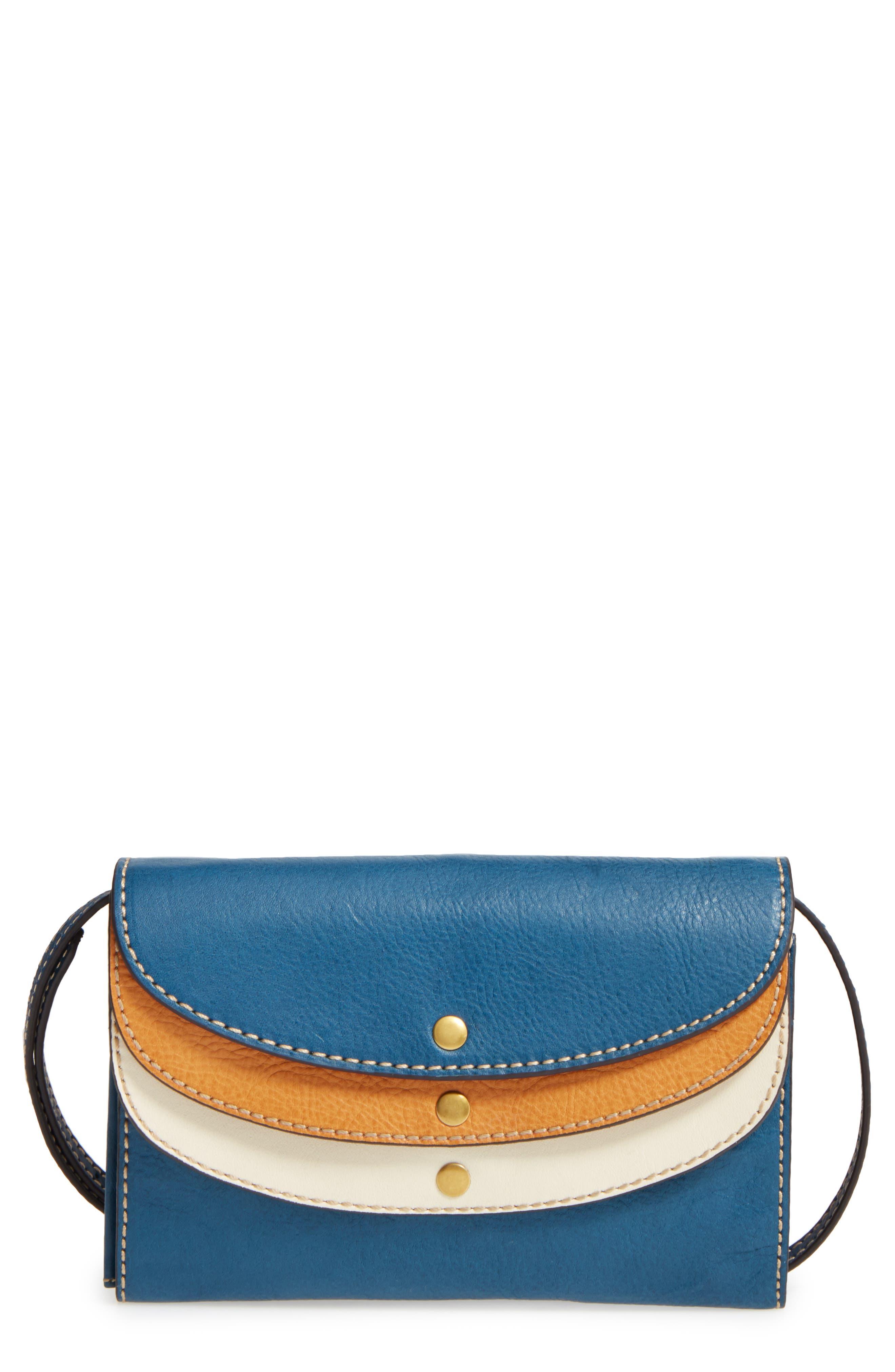 Frye Adeline Leather Crossbody Wallet