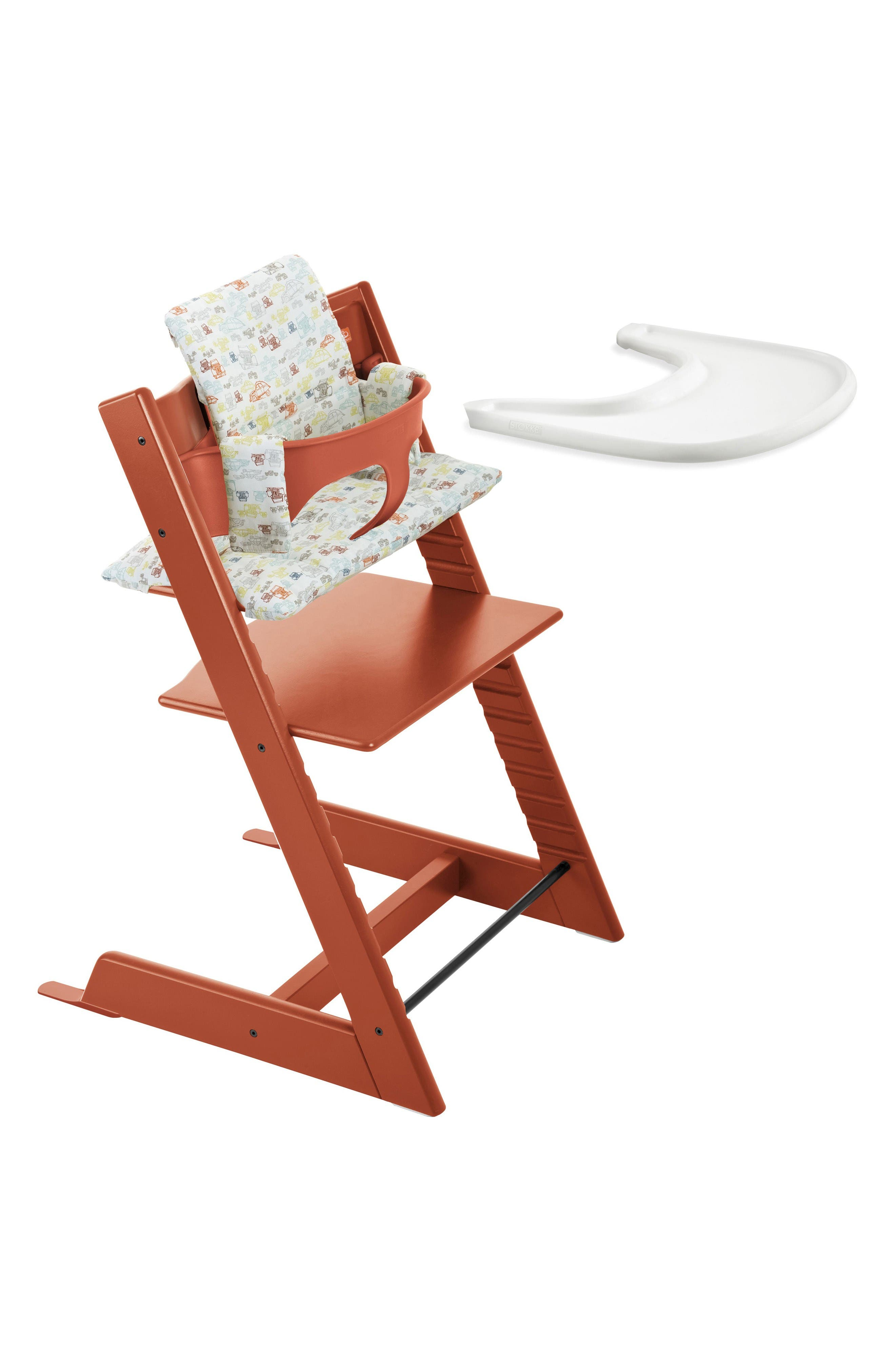 Alternate Image 3  - Stokke Tripp Trapp® High Chair, Baby Set, Cushion & Tray Set (Nordstrom Exclusive)