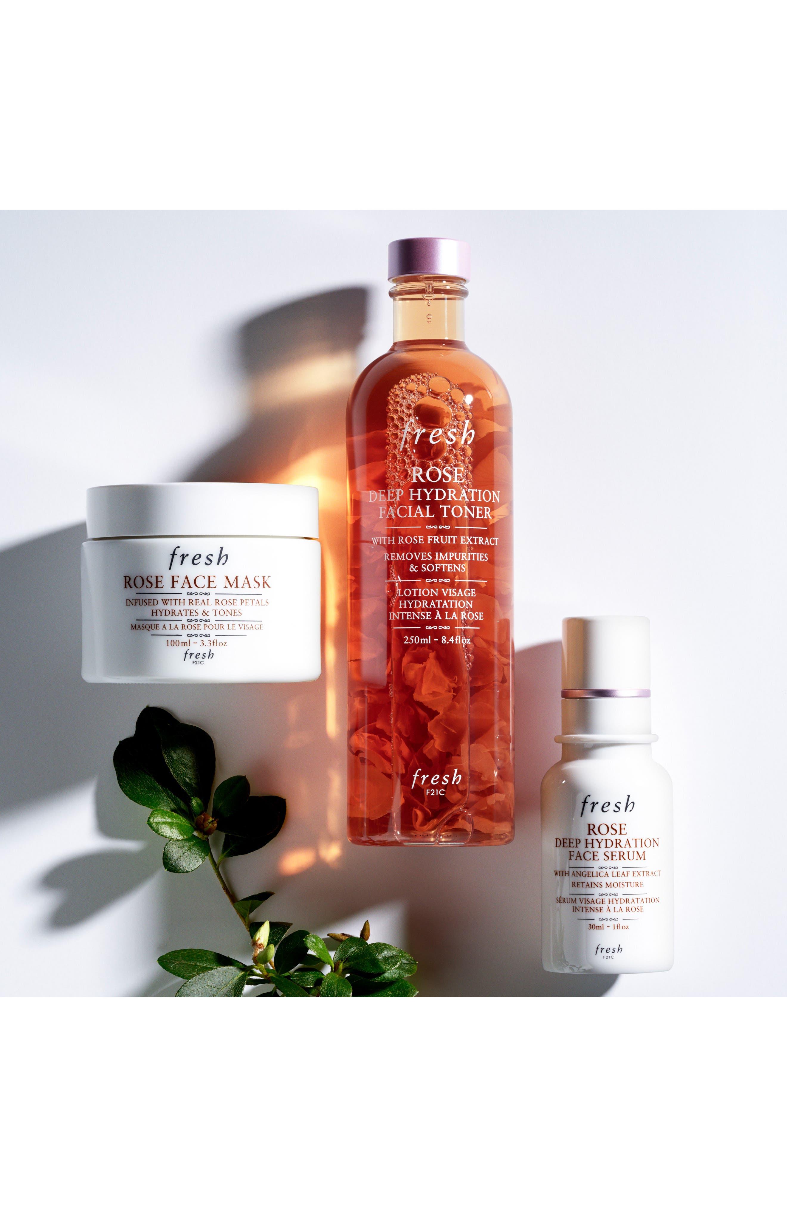 Alternate Image 4  - Fresh® Rose Deep Hydration Facial Toner
