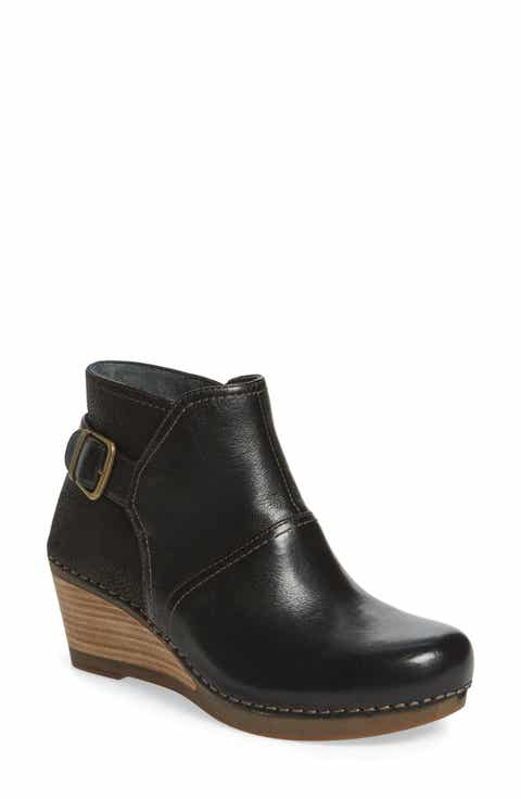 Women's Black Wedge Boots, Boots for Women | Nordstrom