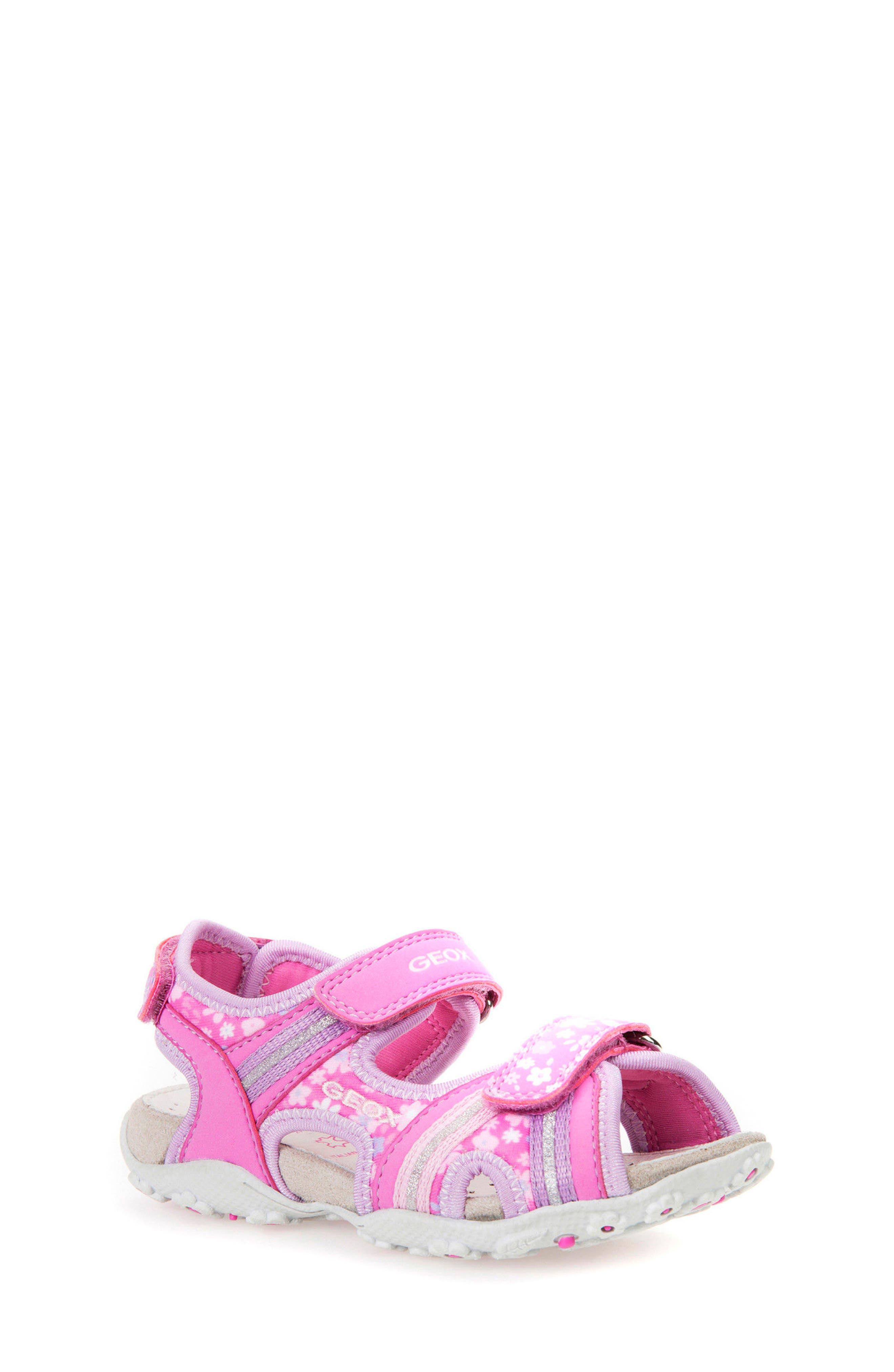 Geox 'Roxanne' Sandal (Toddler, Little Kid & Big Kid)