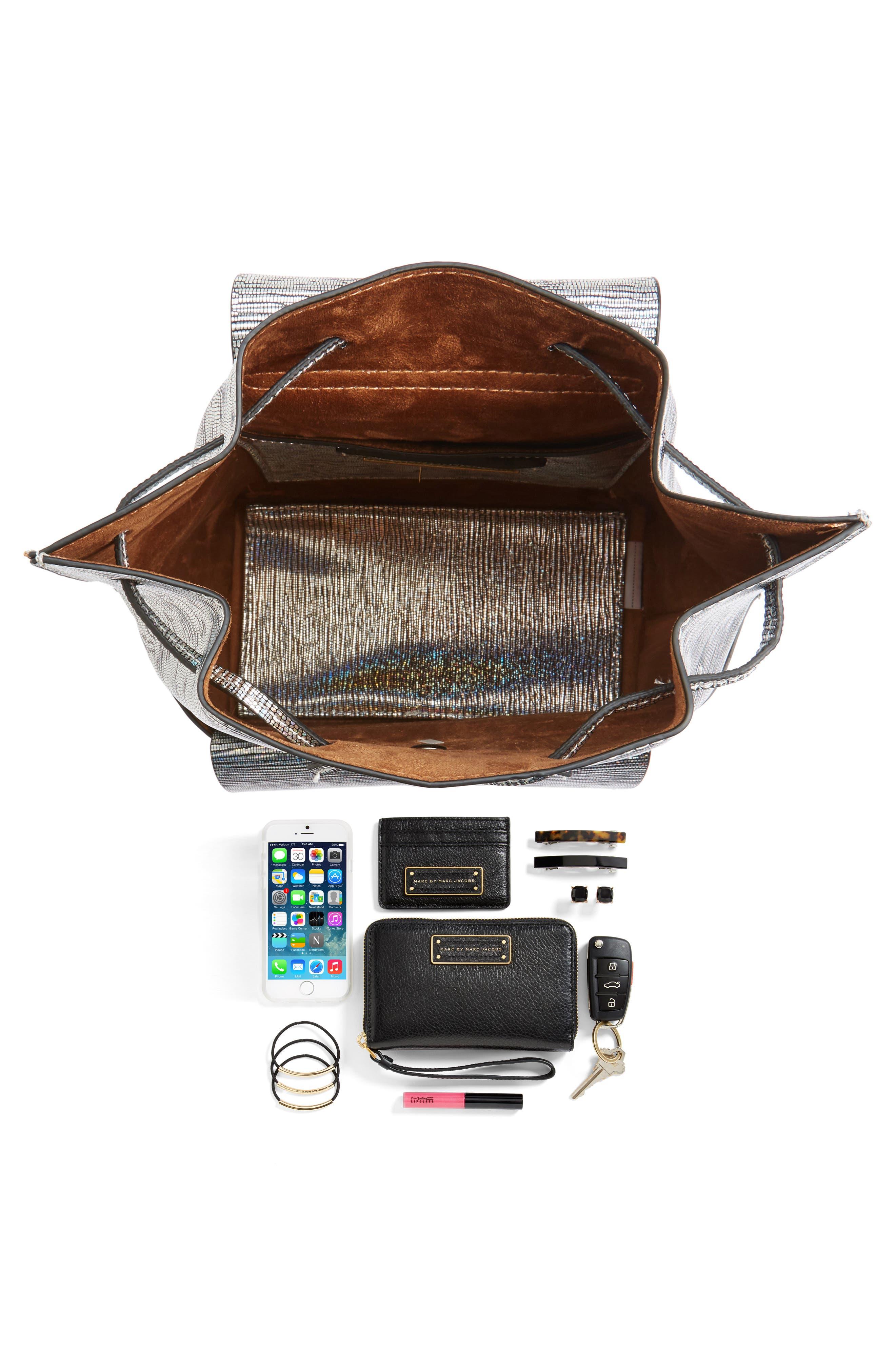 Alternate Image 7  - Street Level Flap Pocket Backpack