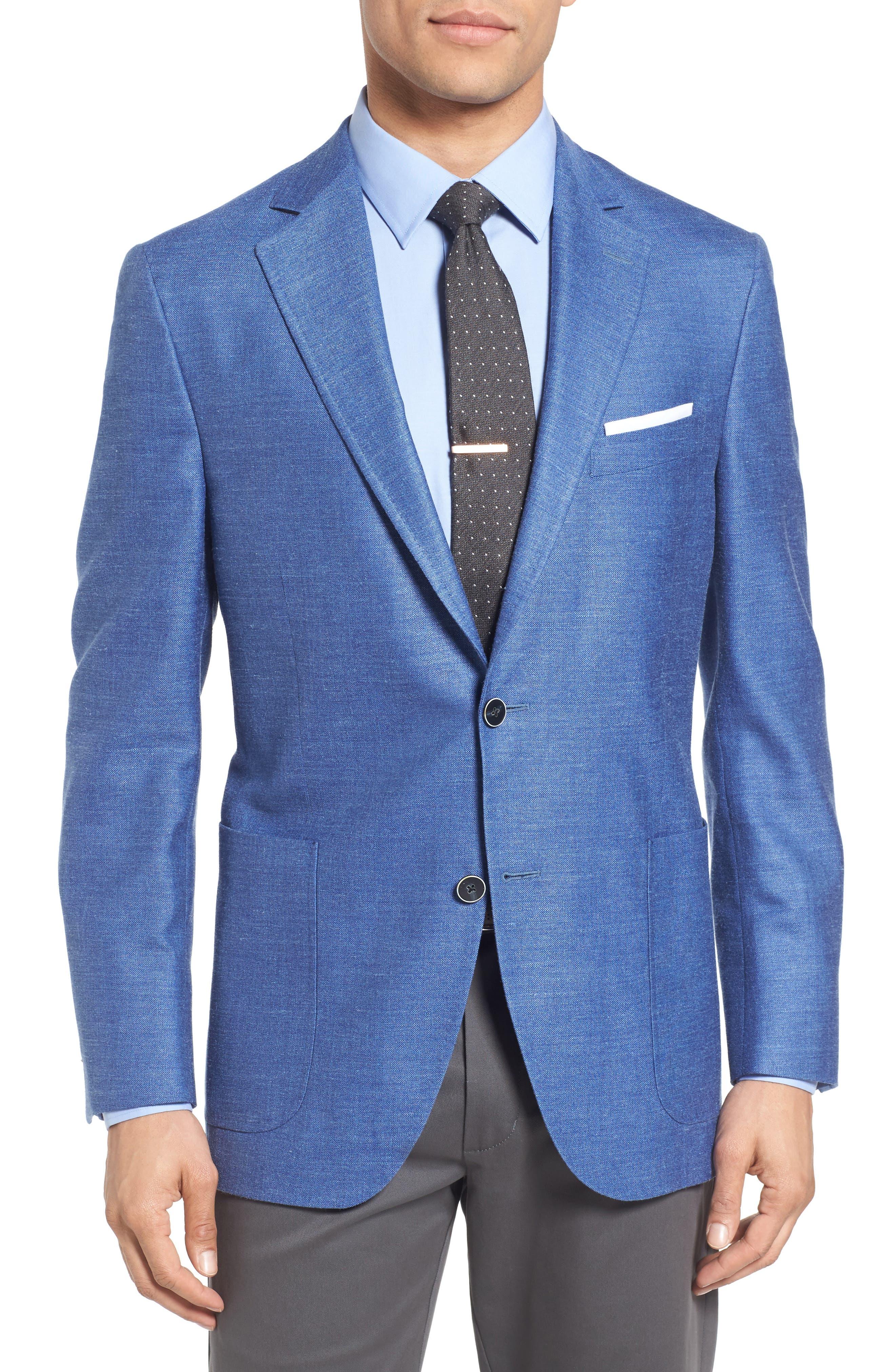 Peter Millar Classic Fit Wool Blend Blazer