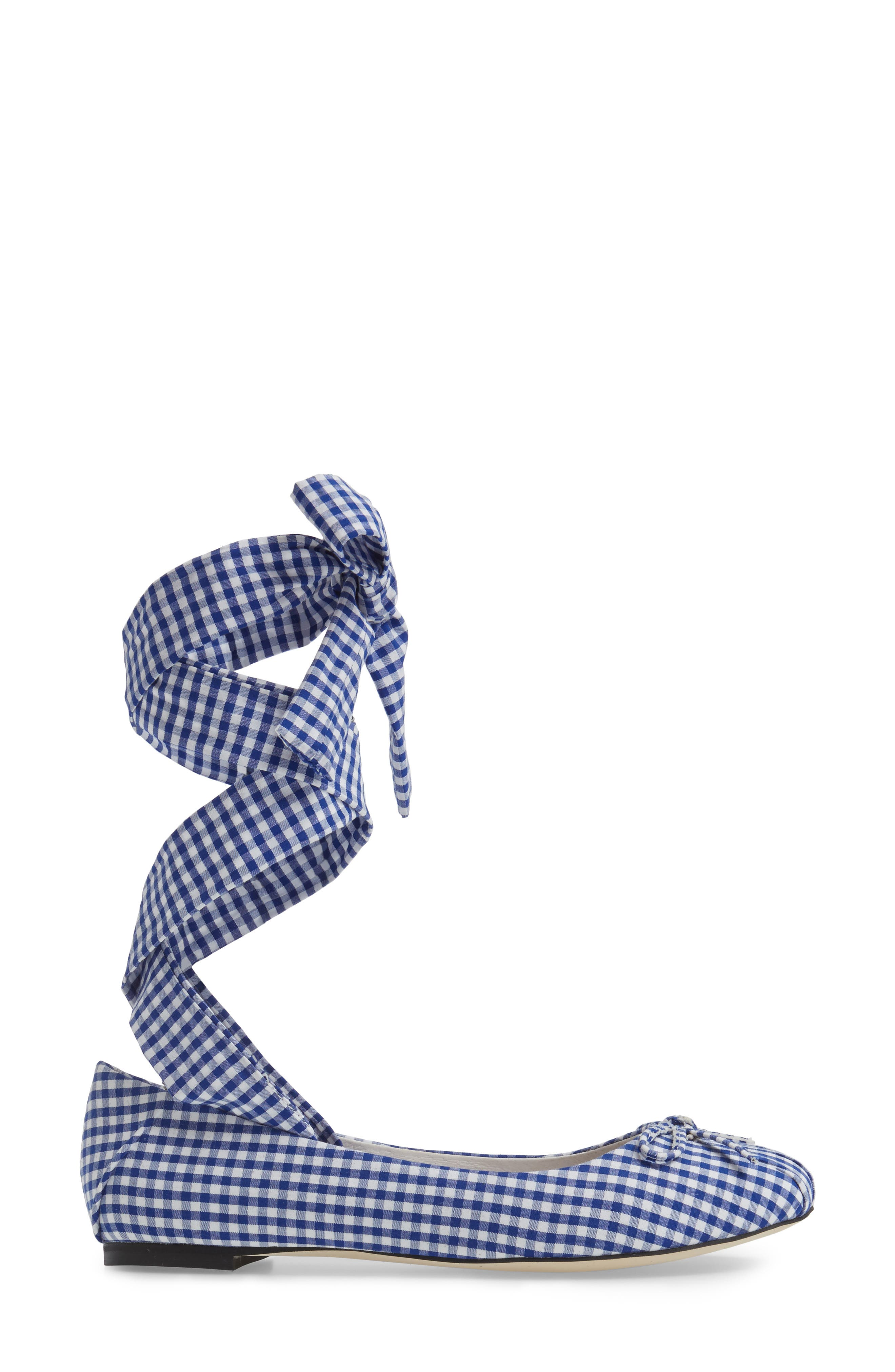 Alternate Image 3  - Jeffrey Campbell Sarine Ankle Wrap Flat (Women)