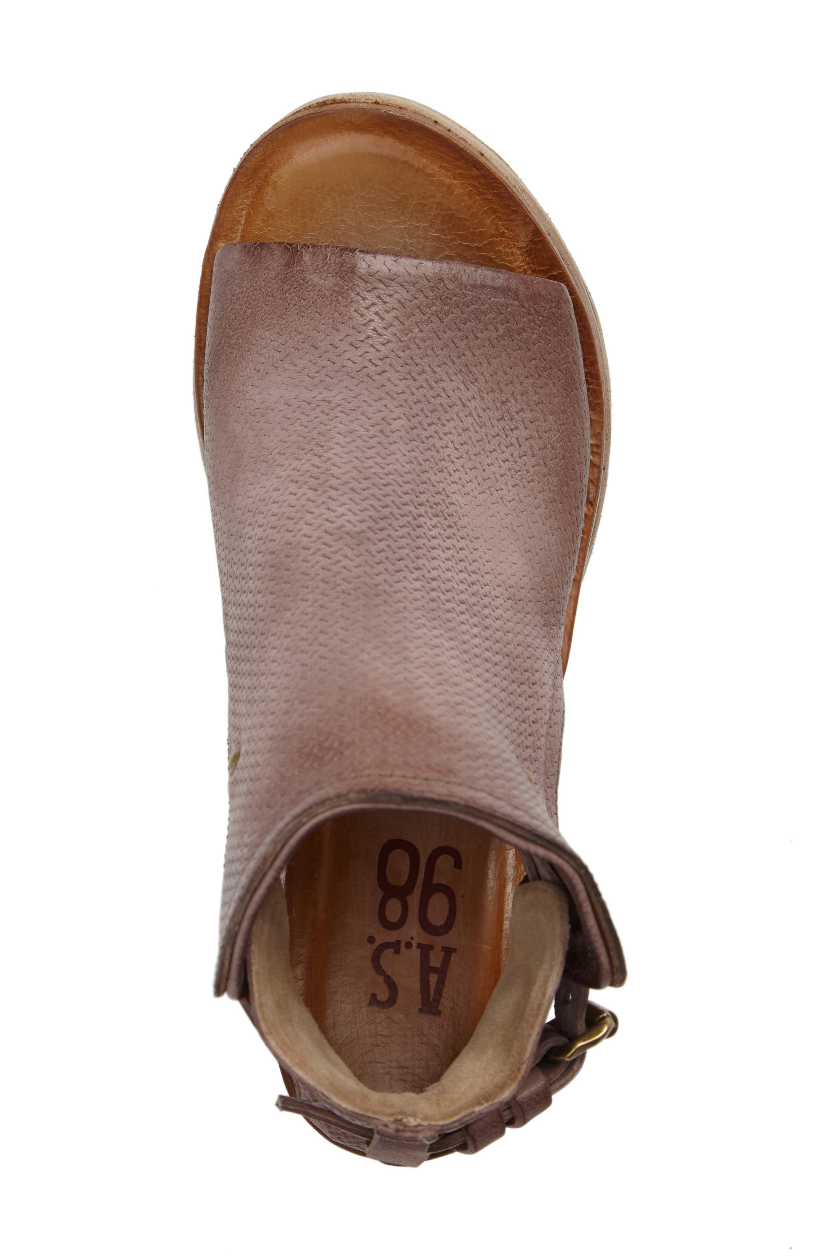 Alternate Image 5  - A.S. 98 Nathan Platform Wedge Sandal (Women)