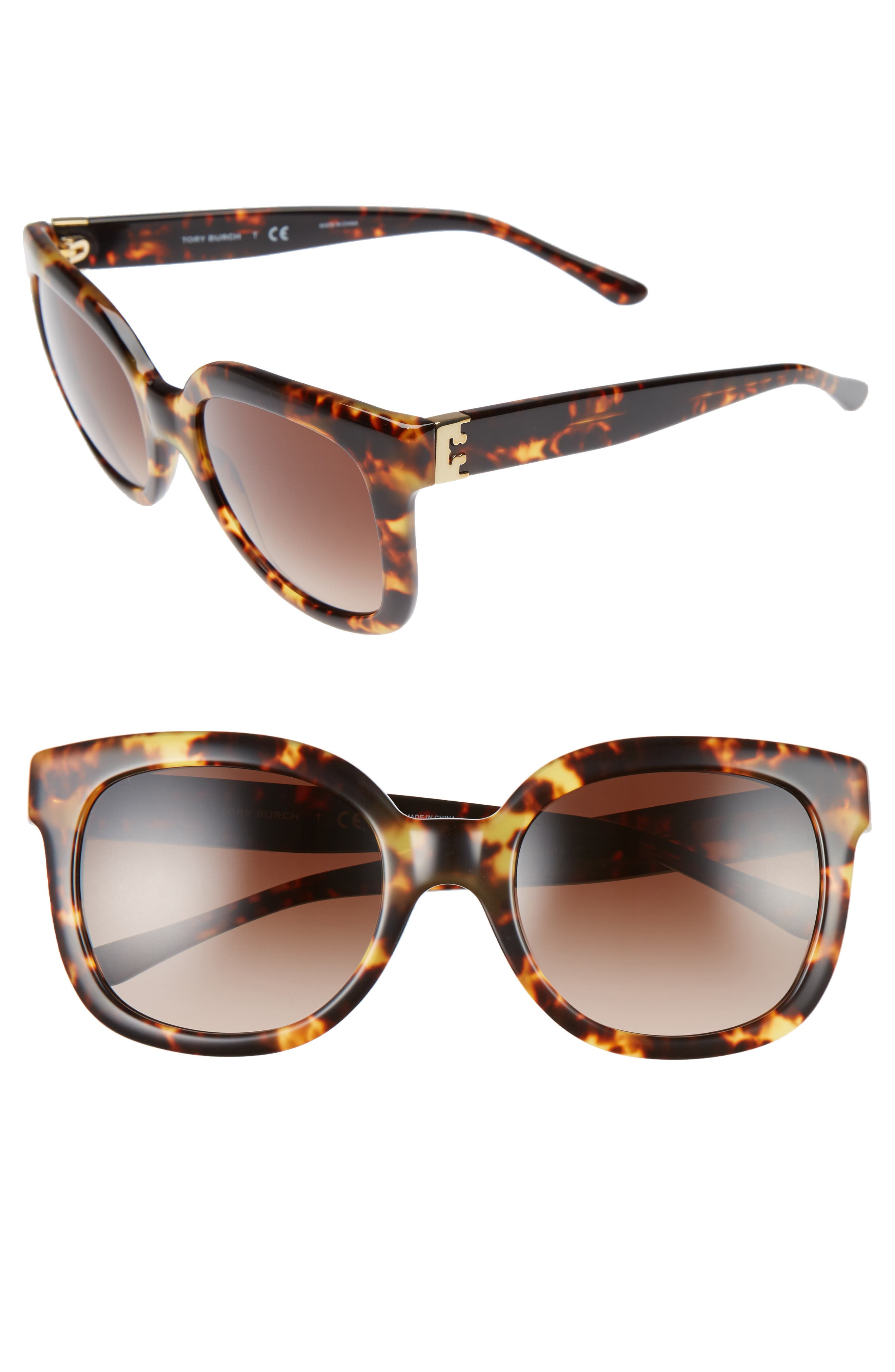 Alternate Image 1 Selected - Tory Burch 54mm Oversized Sunglasses
