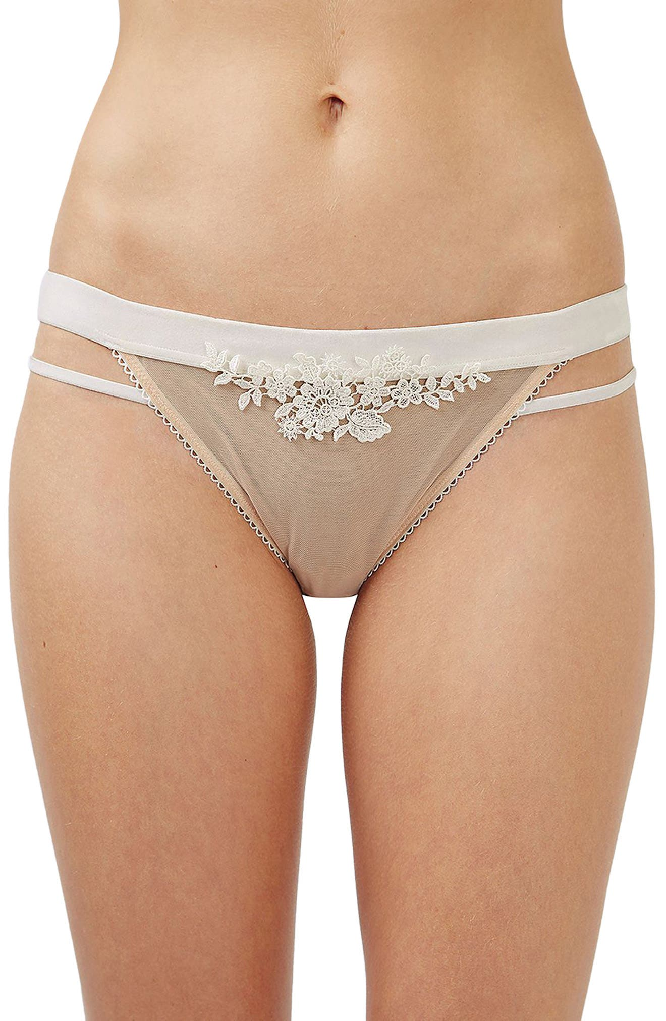 Topshop Bride Lolita Sheer Panties