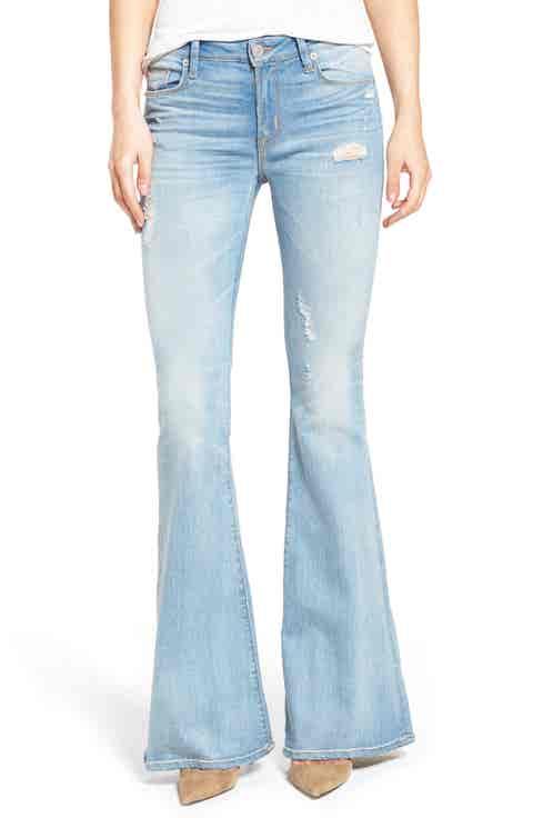 Hudson Jeans Mia Flare Jeans (Aura)