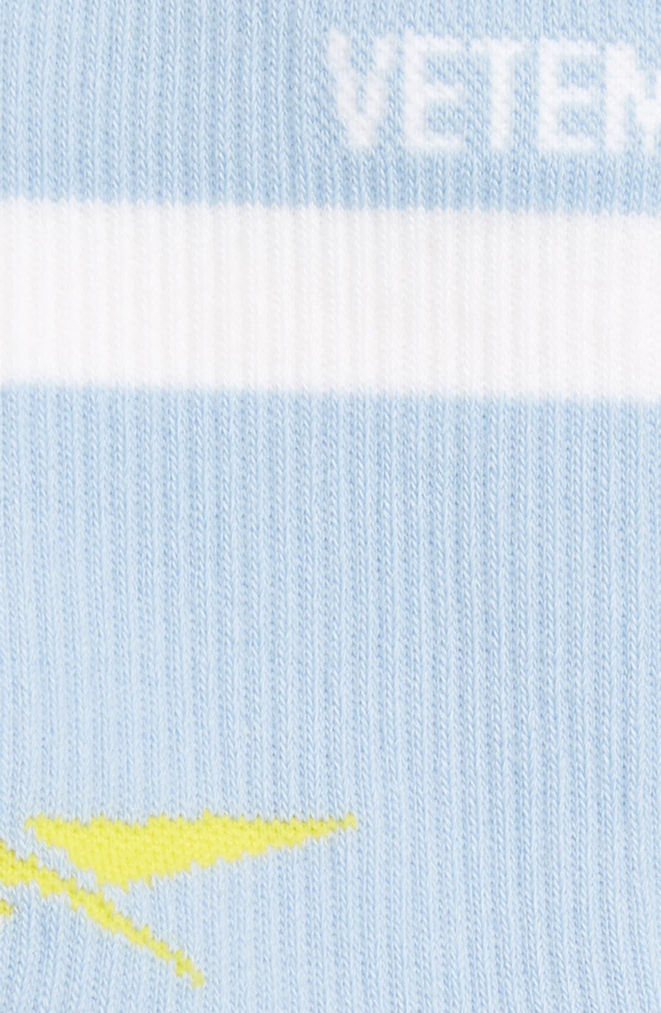 Alternate Image 2  - Vetements Classic Crew Socks